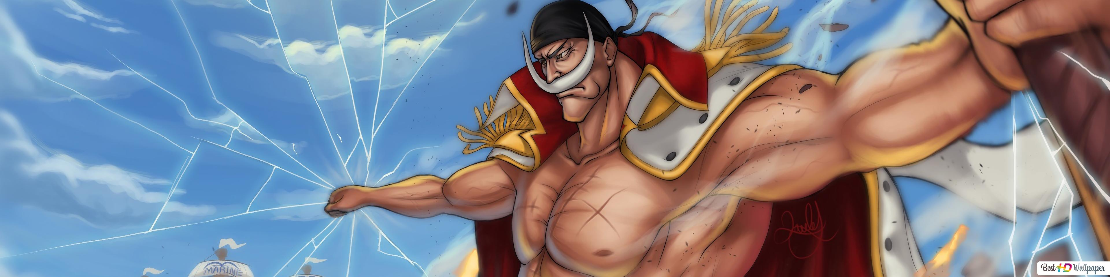 One Piece Whitebeard Edward Newgate Hd Wallpaper Download
