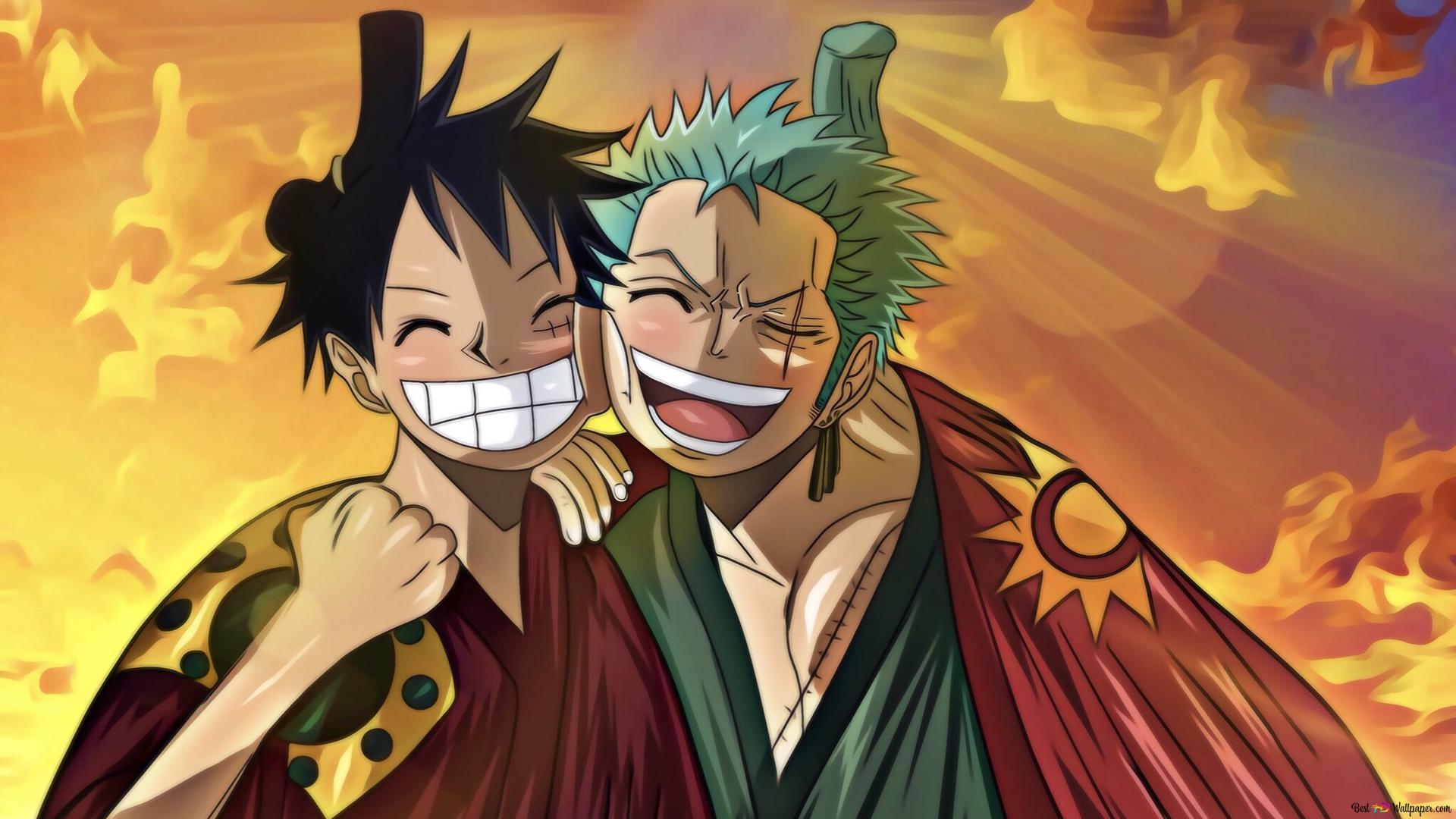 Descargar Fondo De Pantalla One Piece Zoro Roronoa Monkey