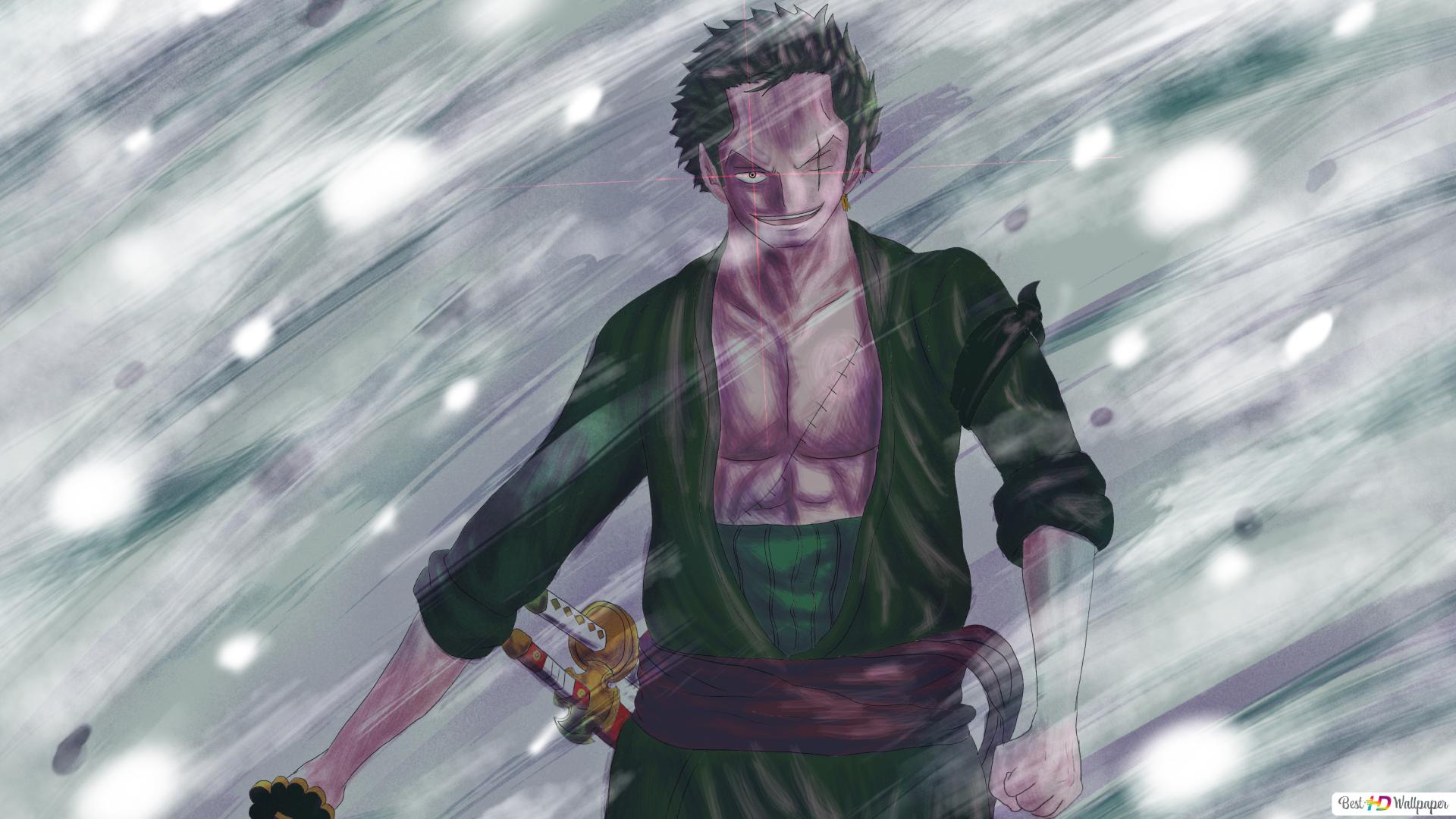 One Piece Zoro Roronoa Hd Wallpaper Download