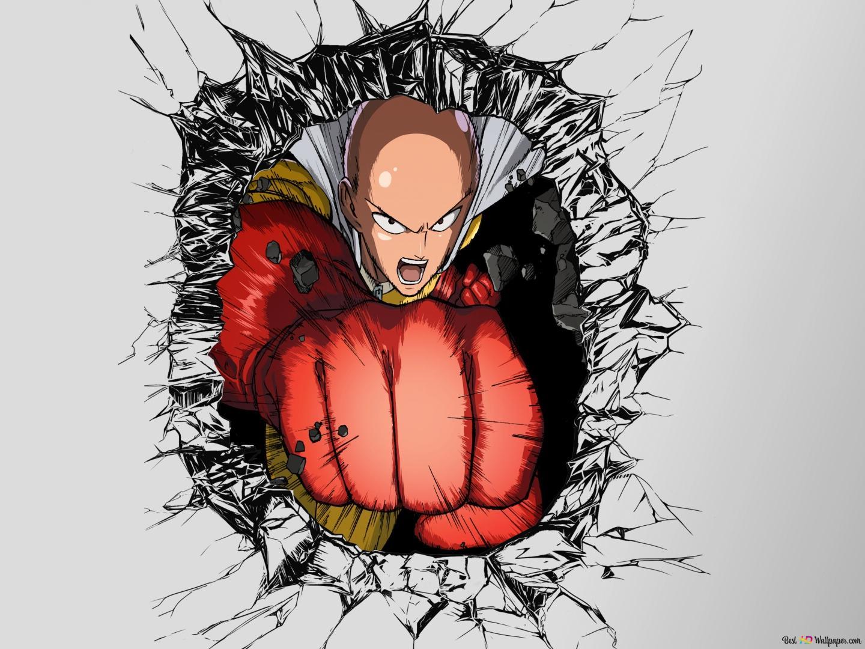One Punch Man - Hero,Saitama HD wallpaper download
