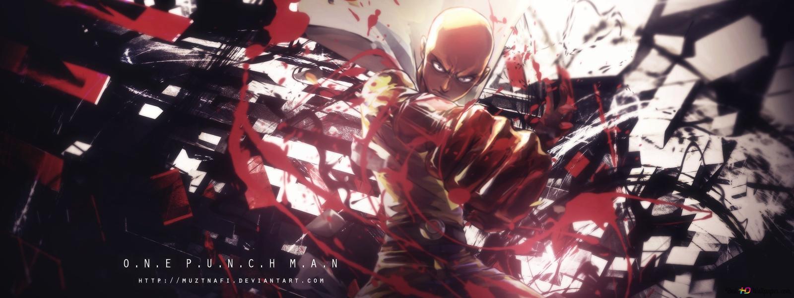 One Punch Man Saitama Wallpaper Hd Wallpaper Download