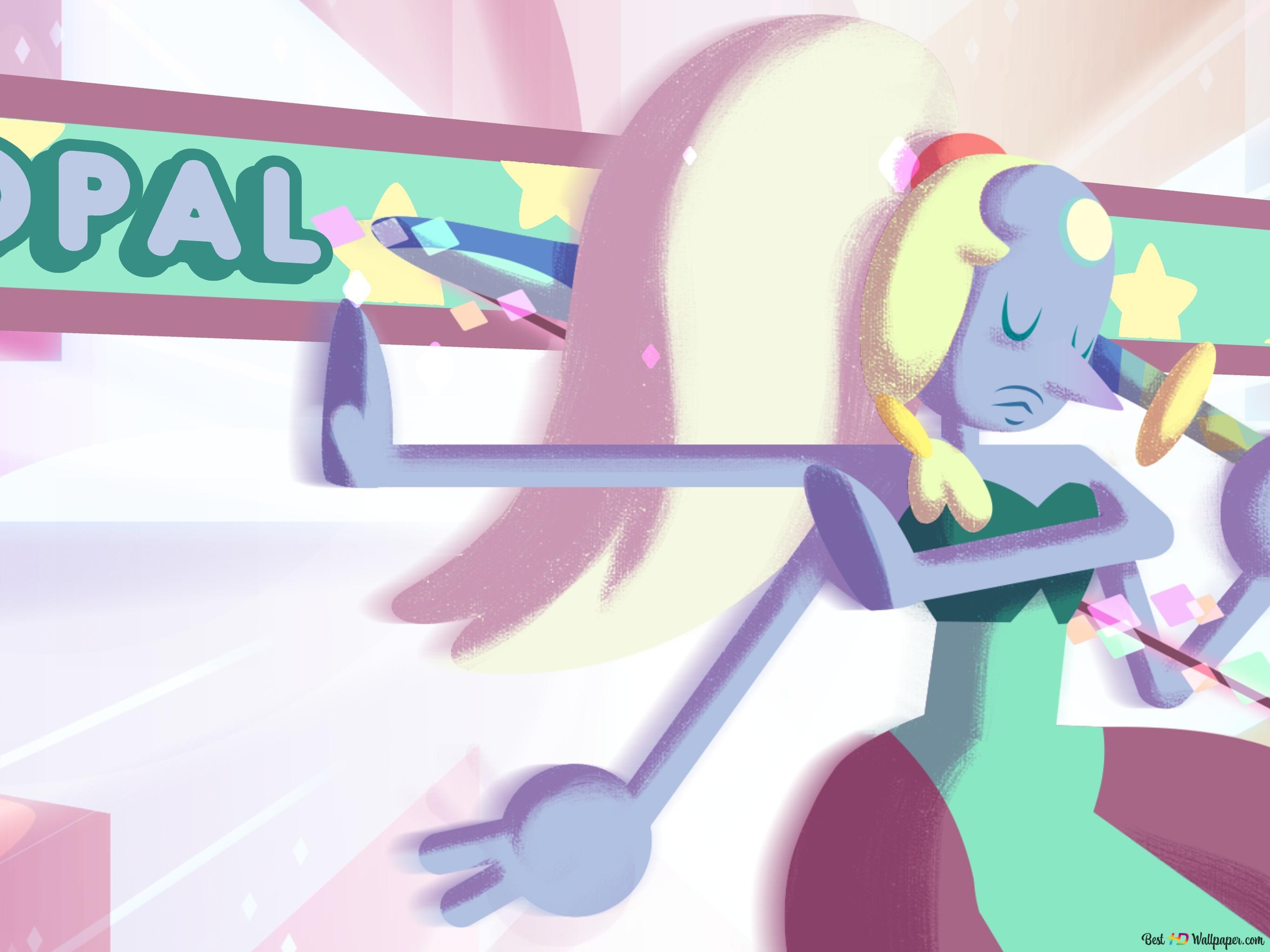 Opal Von Steven Universe Save The Light Hd Hintergrundbilder