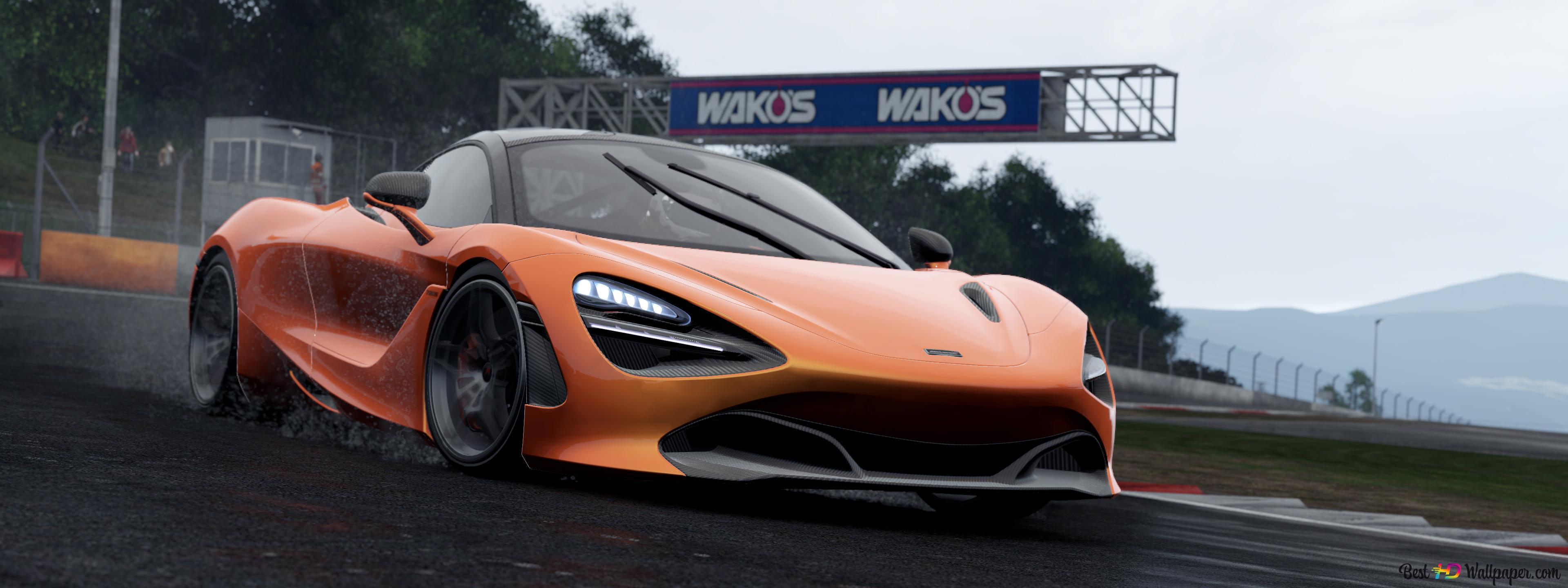 Orange Mclaren 720s Hd Wallpaper Download