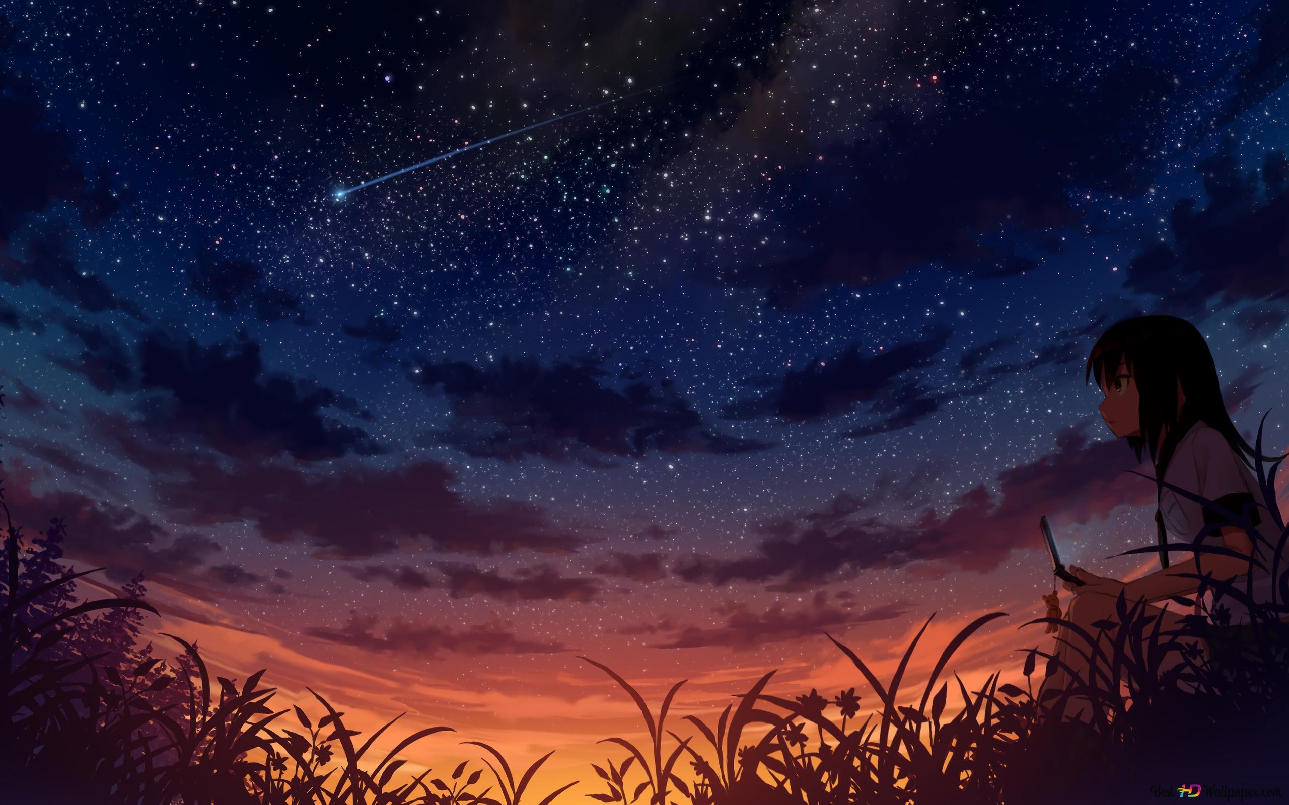 Original Starry Night Hd Wallpaper Download