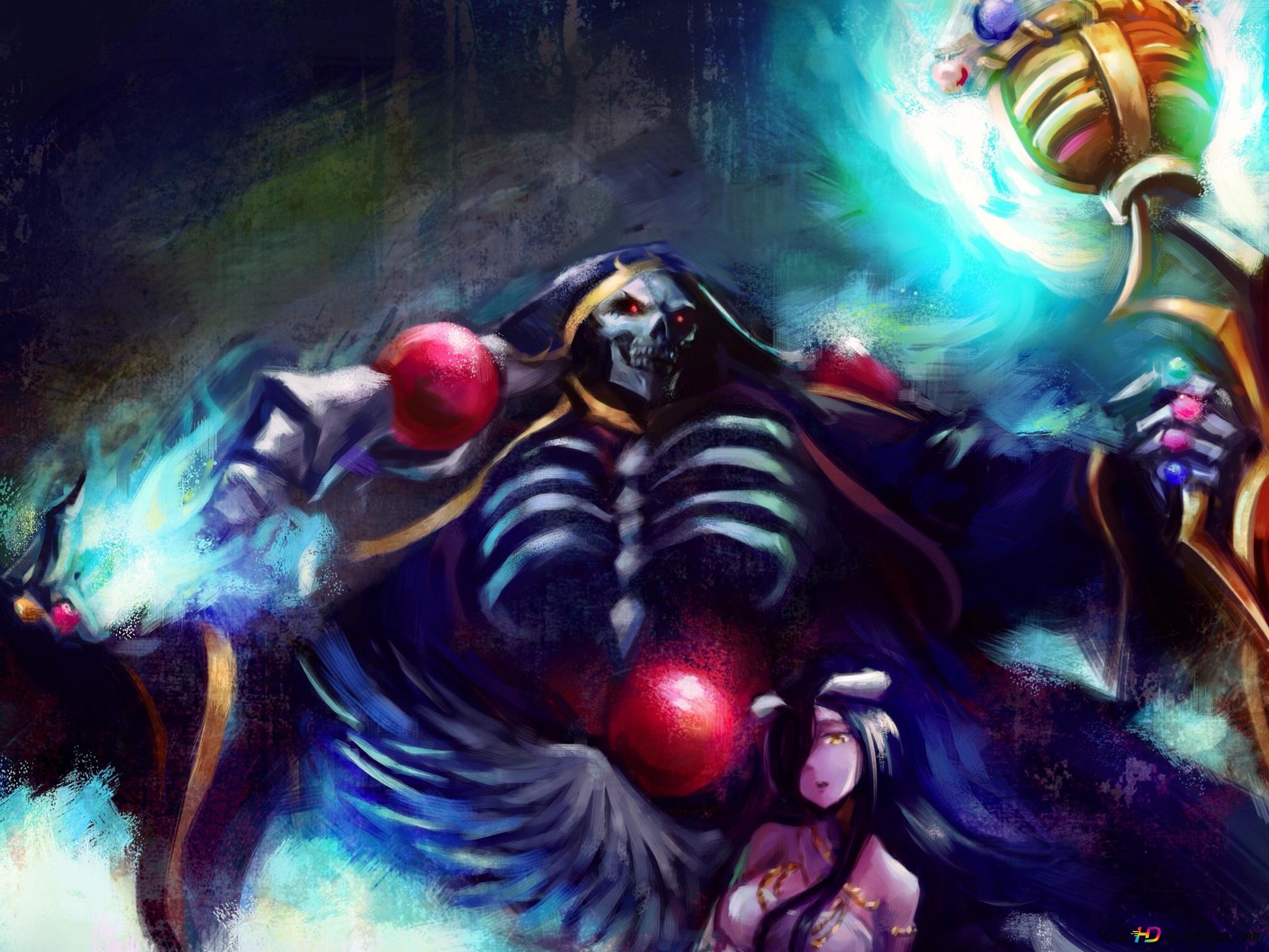 Overlord Ainz Ooal Gown Eternal Legend Albedo Hd Wallpaper Download