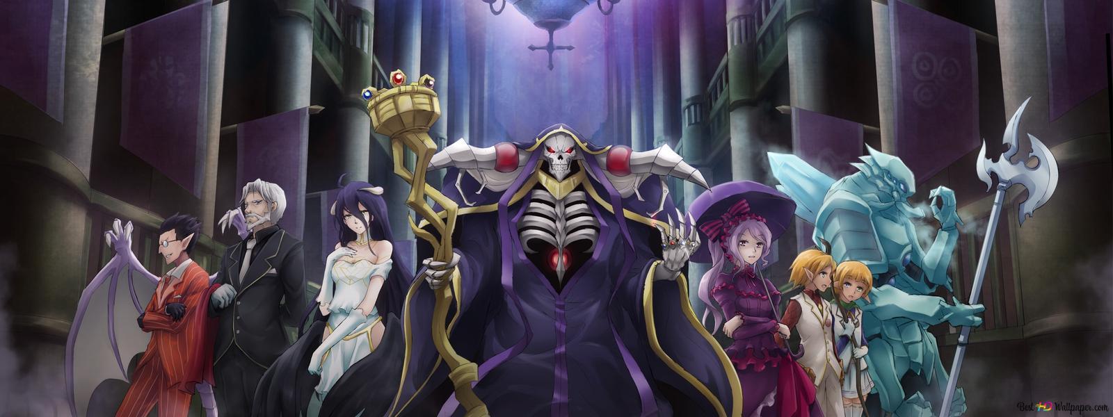 Overlord - Ainz Ooal Gown Tải xuống hình nền HD