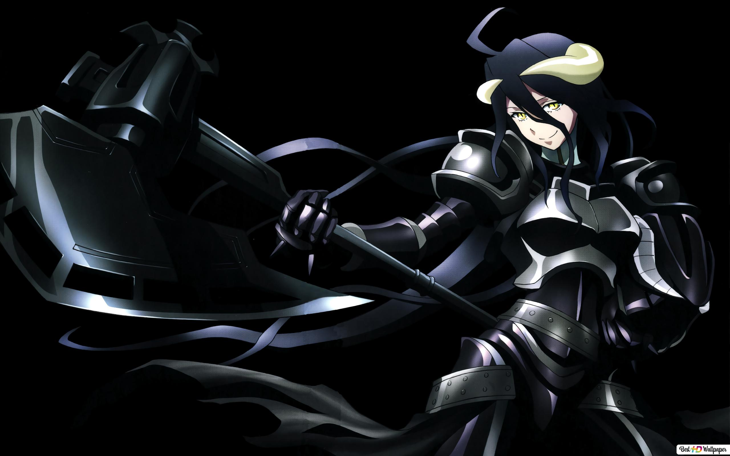 overlord albedo dark wallpaper 2560x1600 739 7