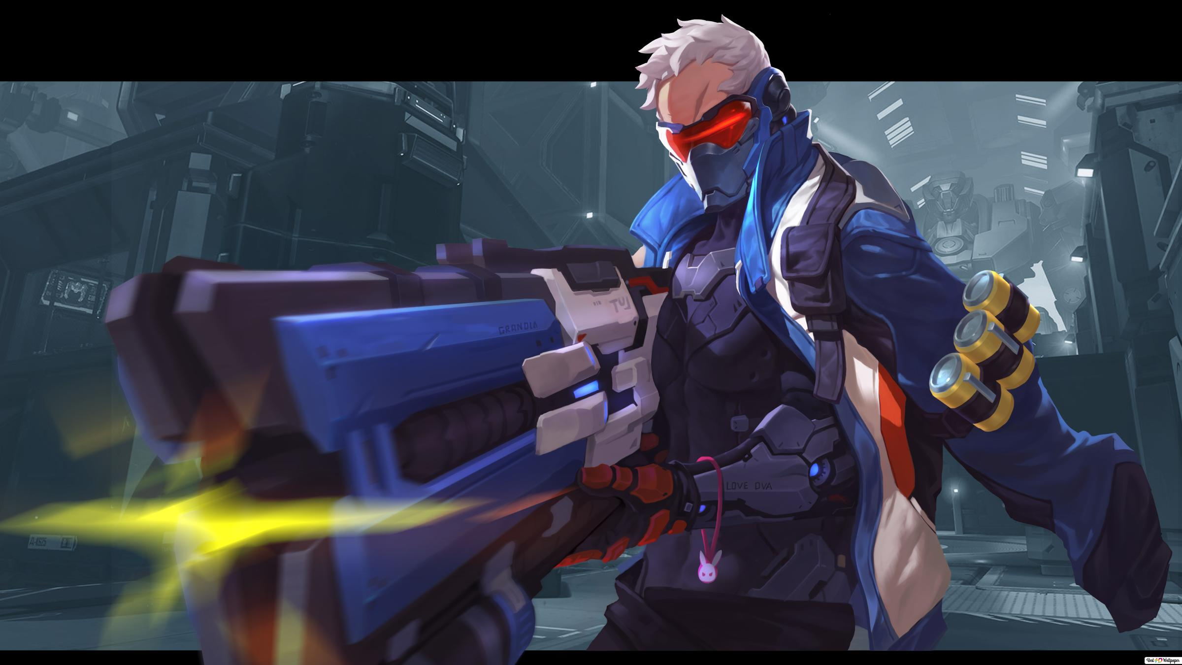 Overwatch (game) - Soldier 76 HD