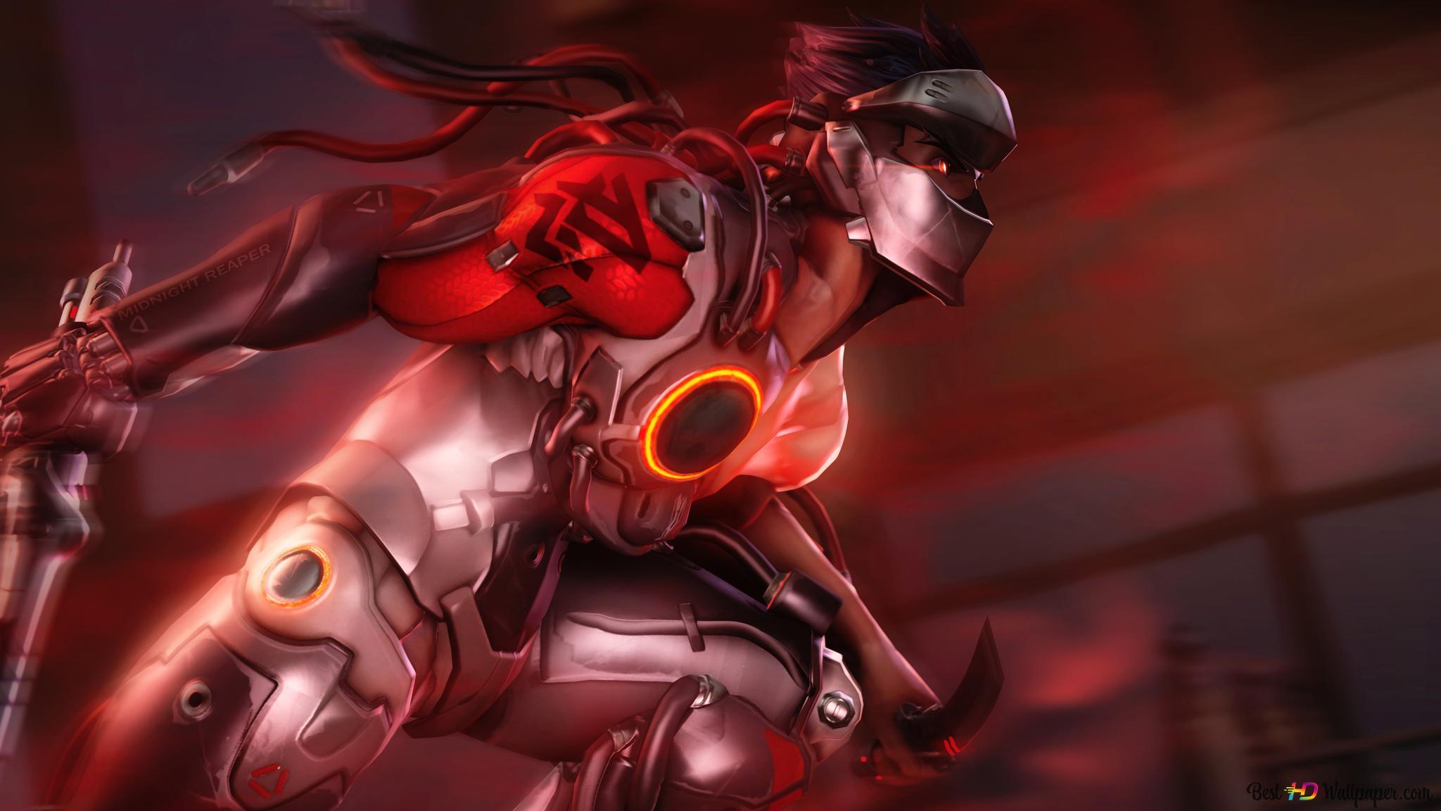 Overwatch Video Game Ninja Genji Fanart Hd Wallpaper Download