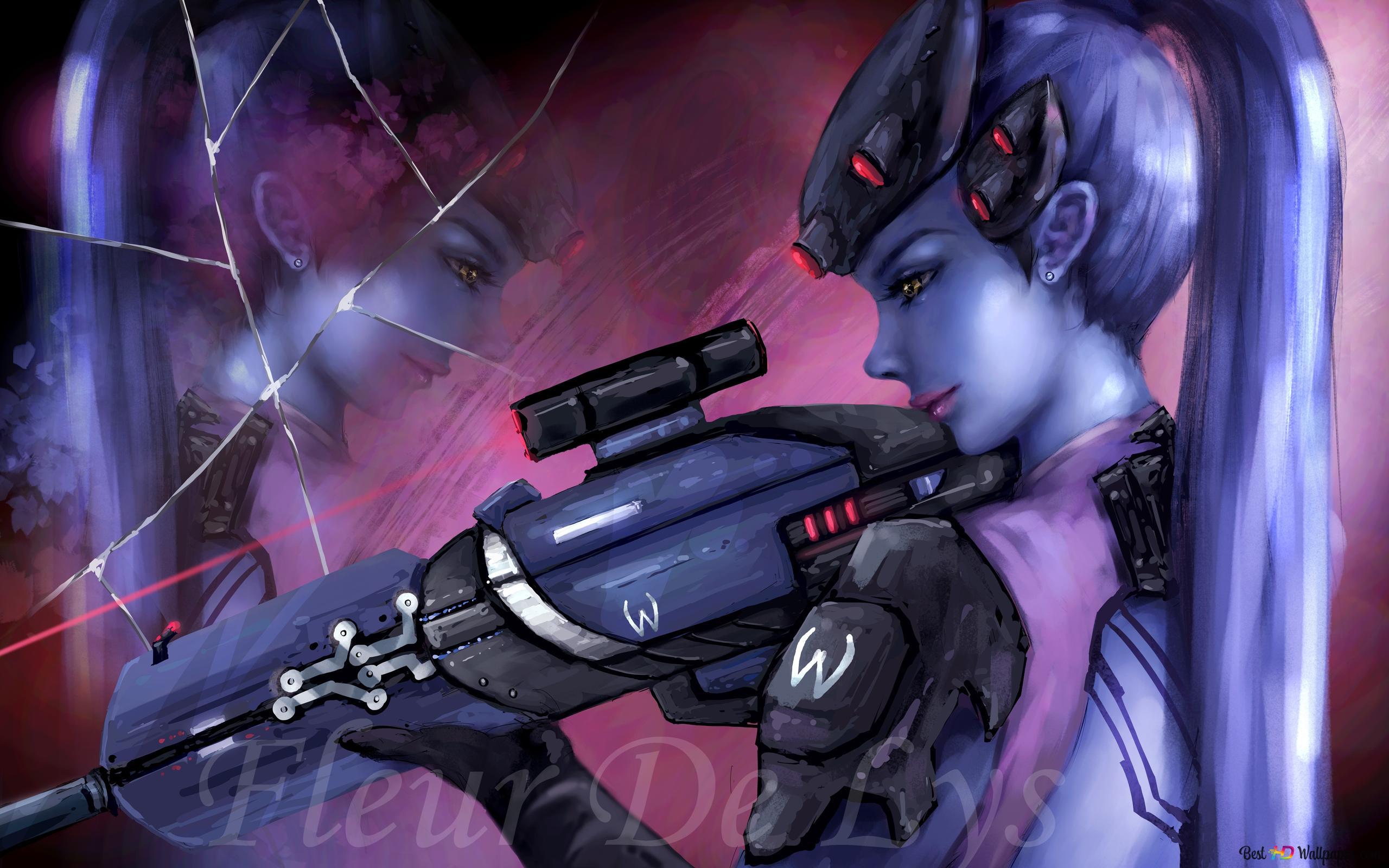 Overwatch Widow Maker Hd Wallpaper Download