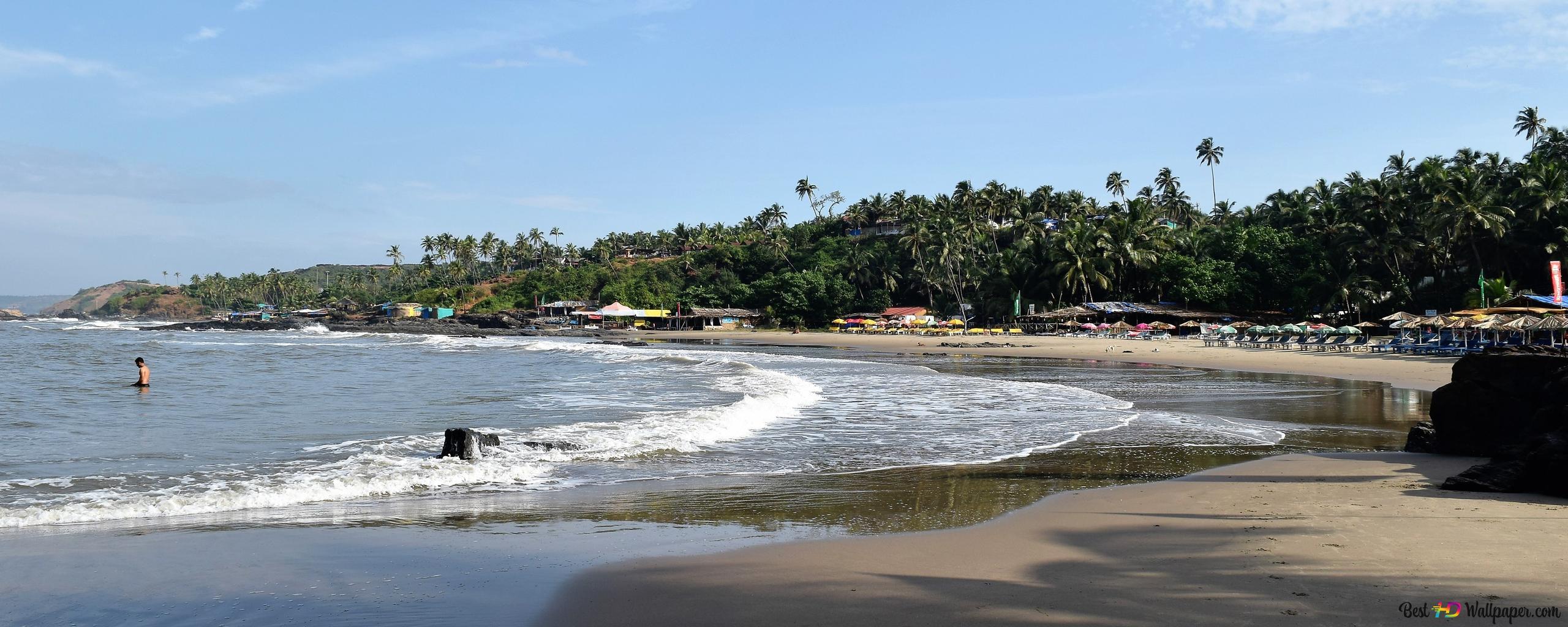 Goa Beach Parallax Hd Iphone Ipad Wallpaper: North Goa HD Wallpaper Download
