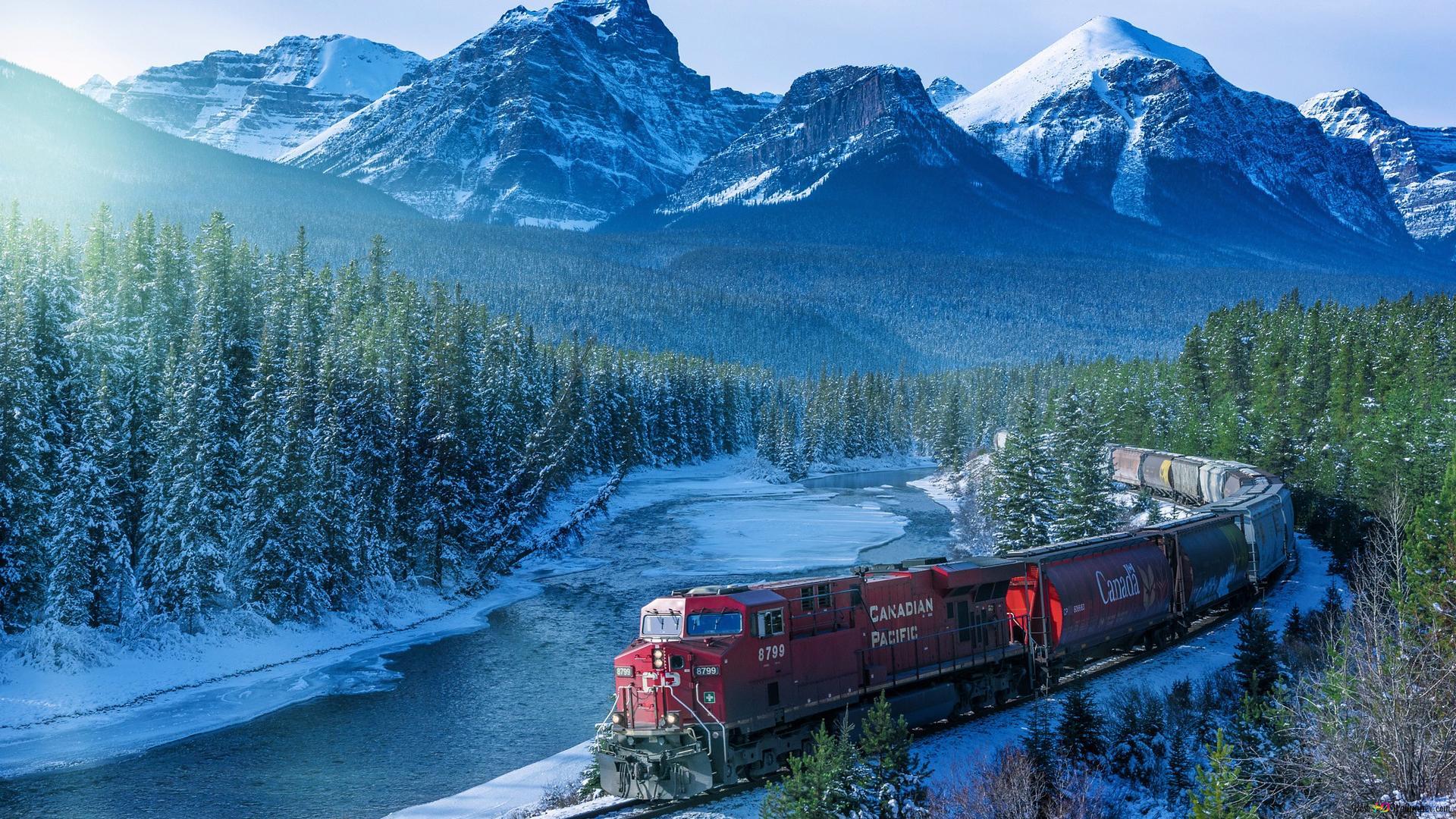 Paesaggio Della Montagna Di Neve Download Di Sfondi Hd