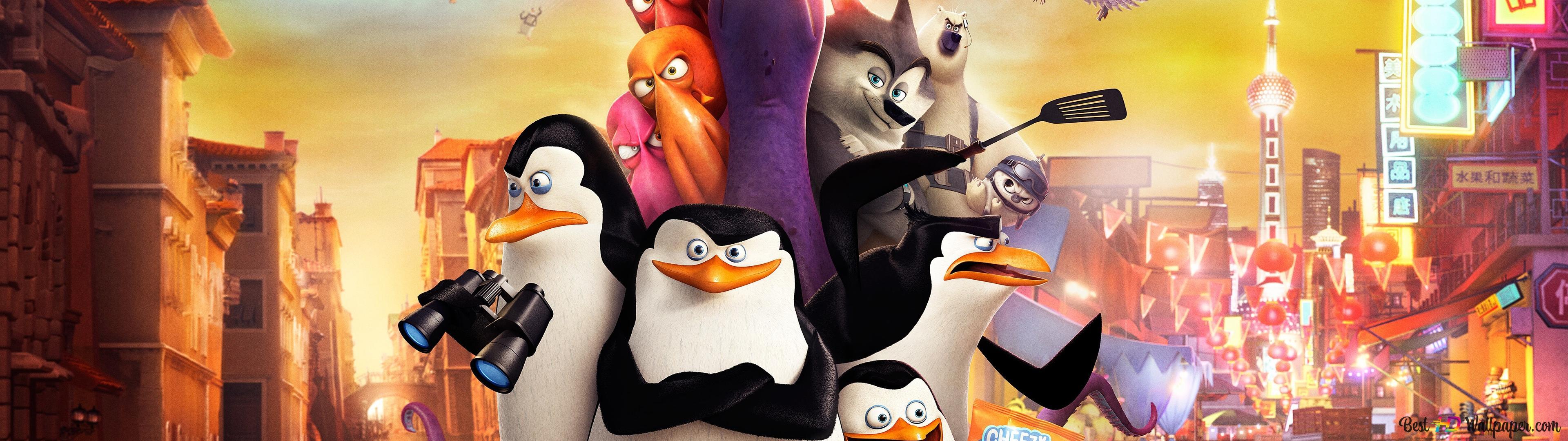 Penguins Of Madagascar 2014 Hd Wallpaper Download