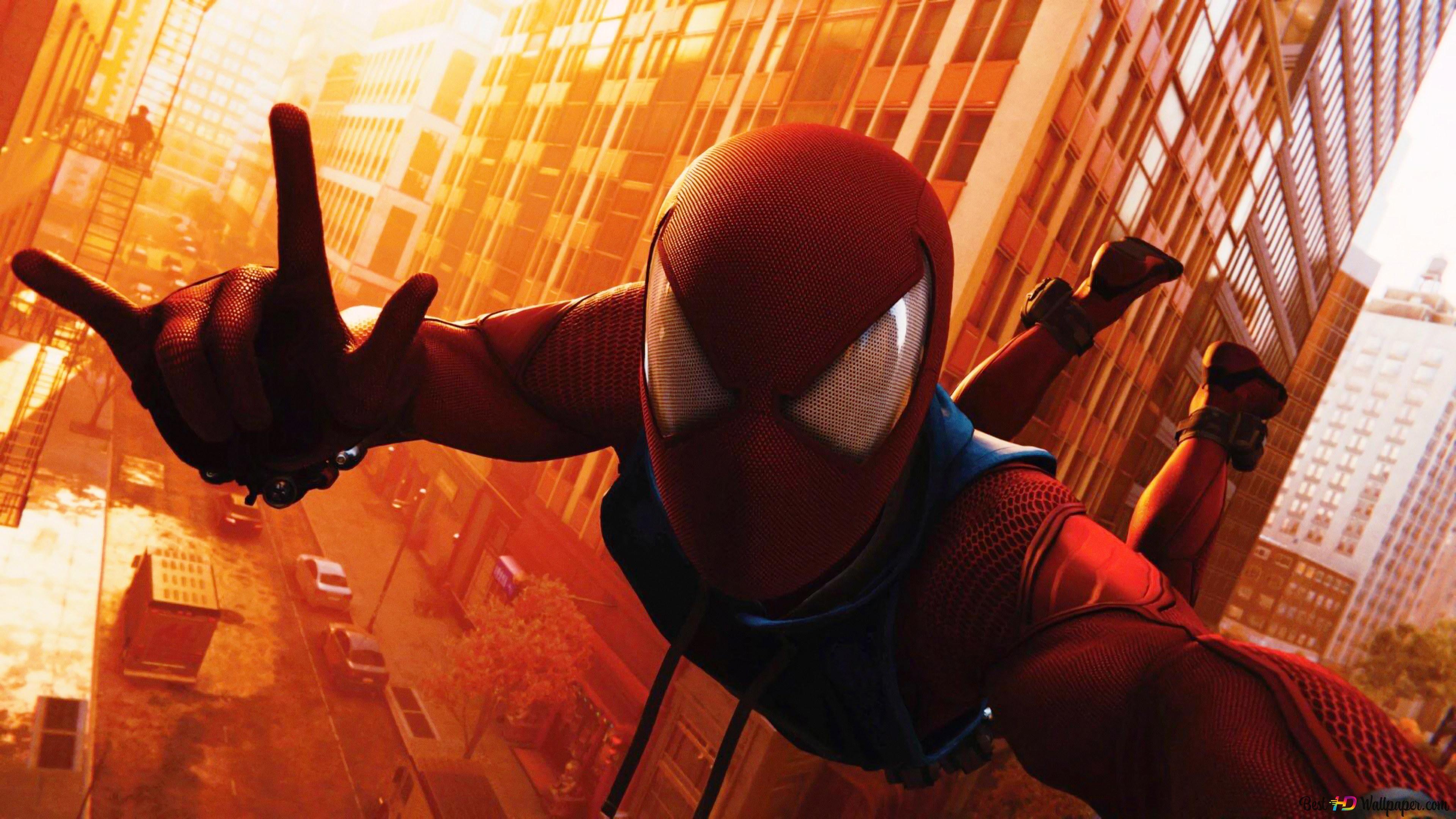 Permainan Spider Man Spidey Sejuk Mengambil Gambar Diri