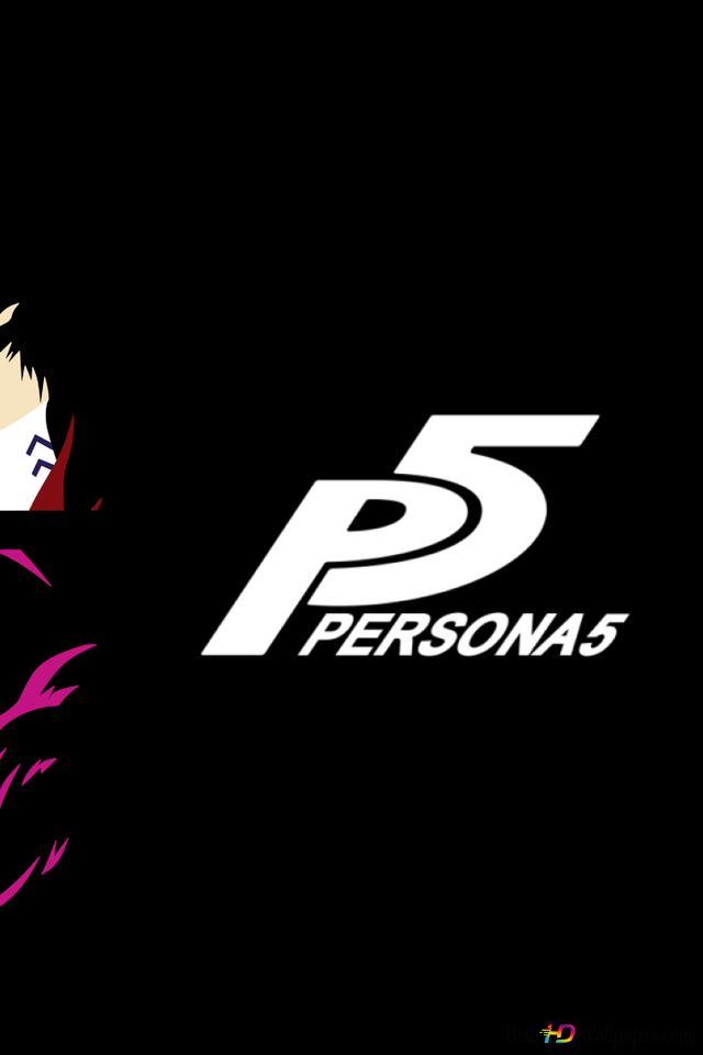 Persona 5 The Animation Minimalist Hd Wallpaper Download