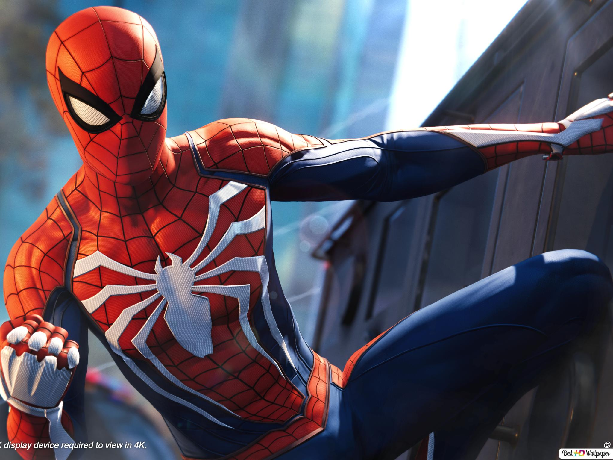 Peter Parker Is Spiderman Hd Wallpaper Download