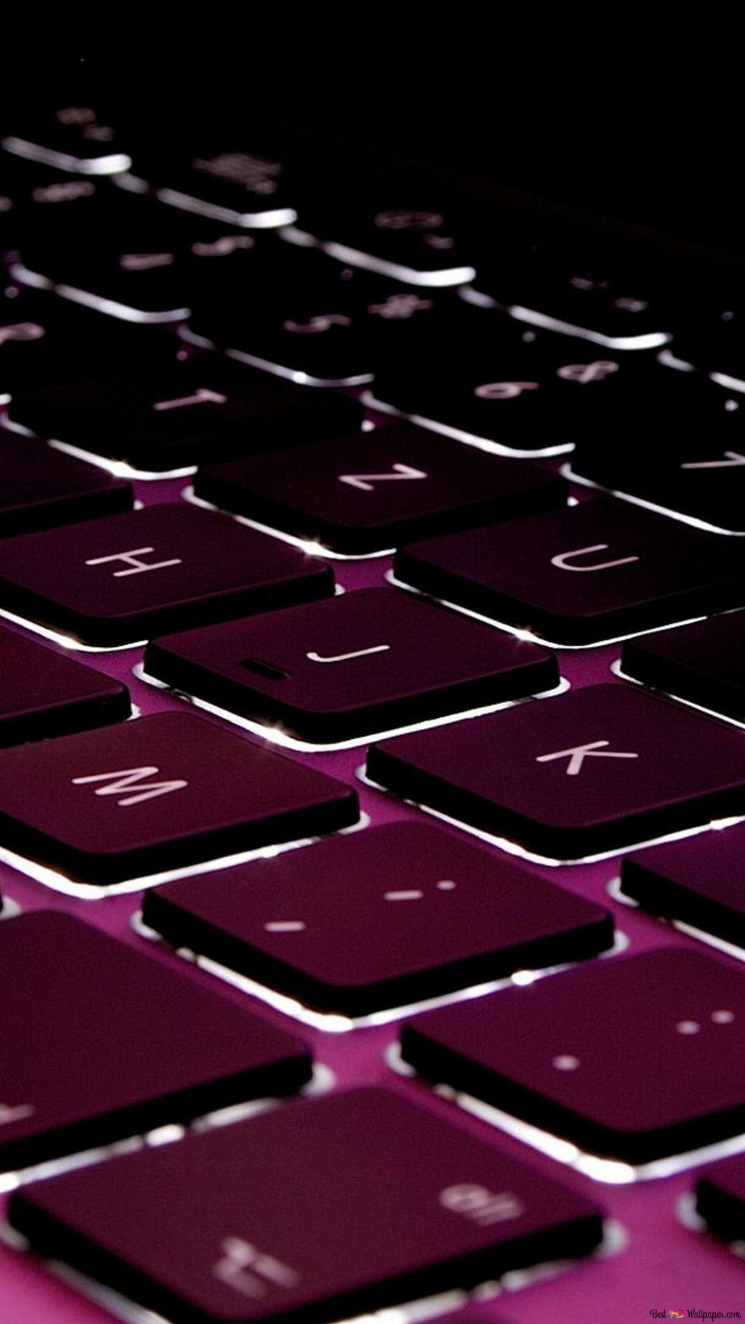 Pink Keyboard Hd Wallpaper Download