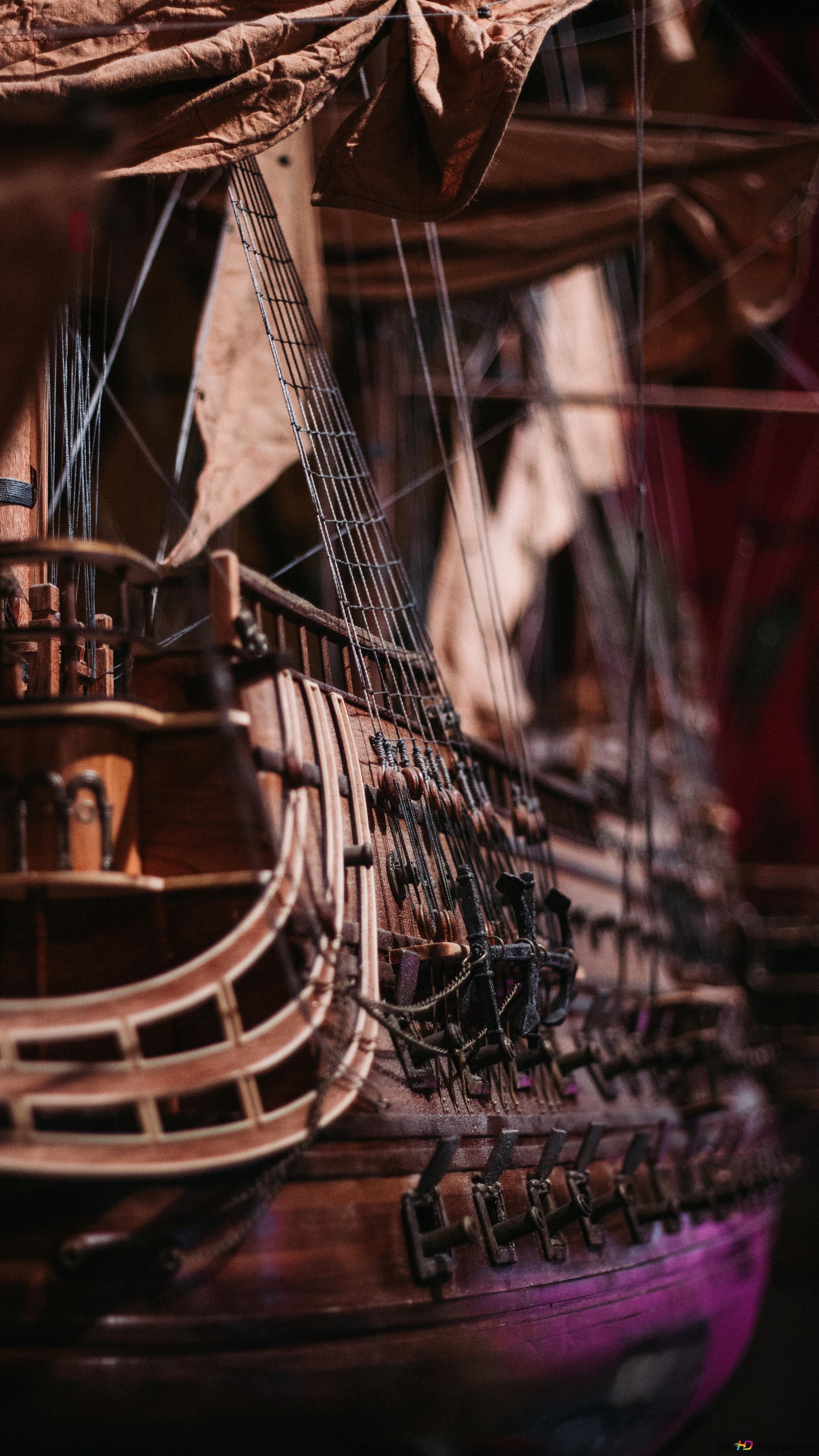 Pirate Ship HD wallpaper download