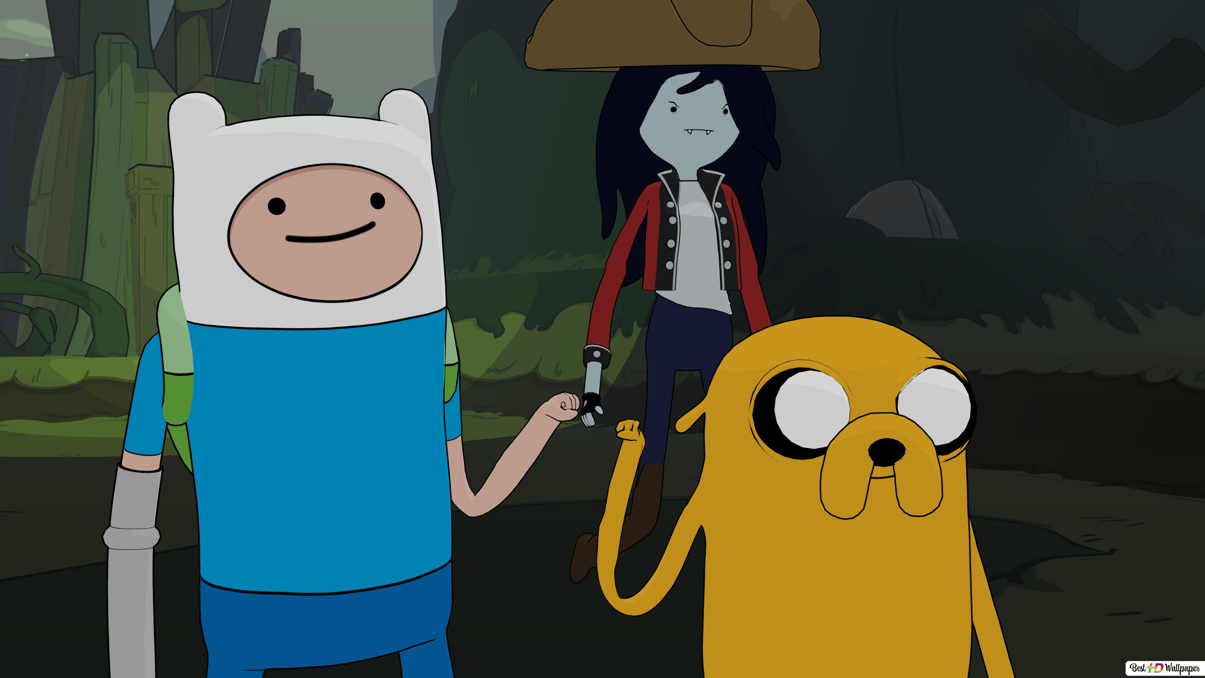 Pirates Of The Enchiridion Finn And Jake Hd Wallpaper Download
