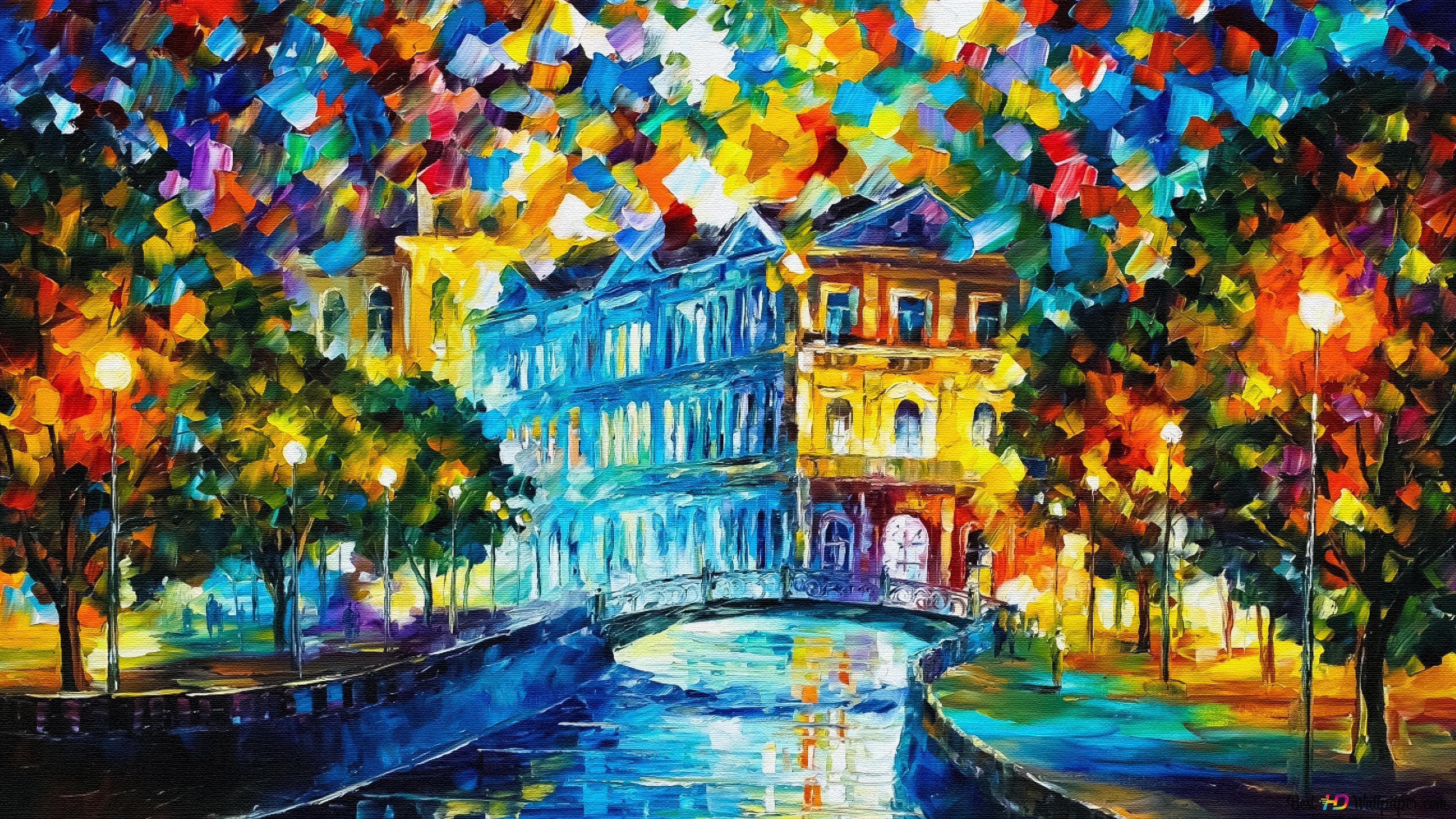Pittura Artistica E Colorata Download Di Sfondi Hd