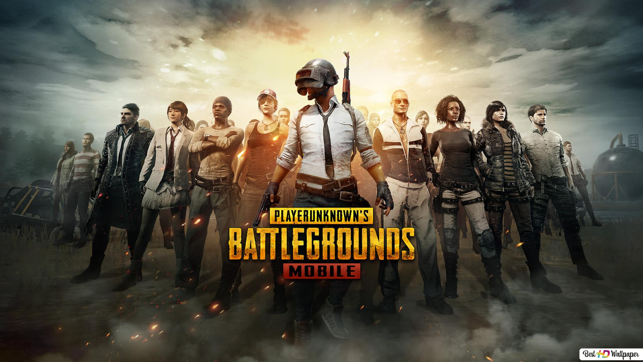Playerunknown S Battlegrounds Pubg Mobile Characters Hd