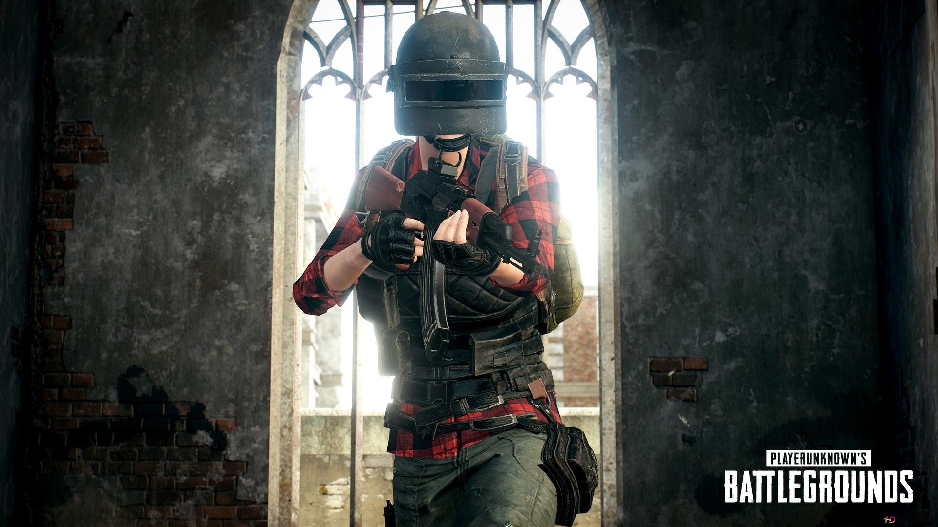 Playerunknown S Battlegrounds Shooter Guy Hd Wallpaper Download