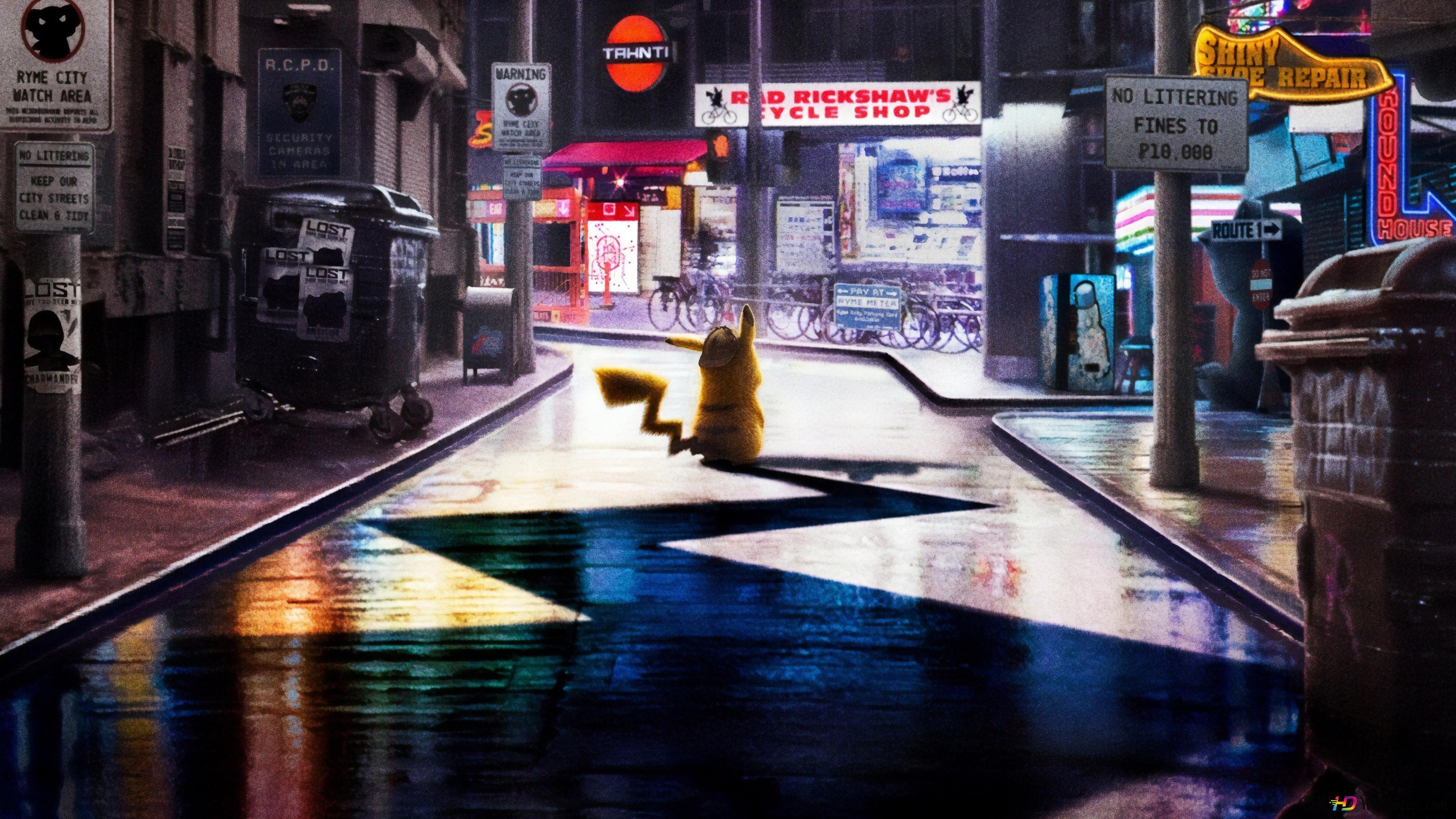Pokemon Detective Pikachu Hd Wallpaper Download