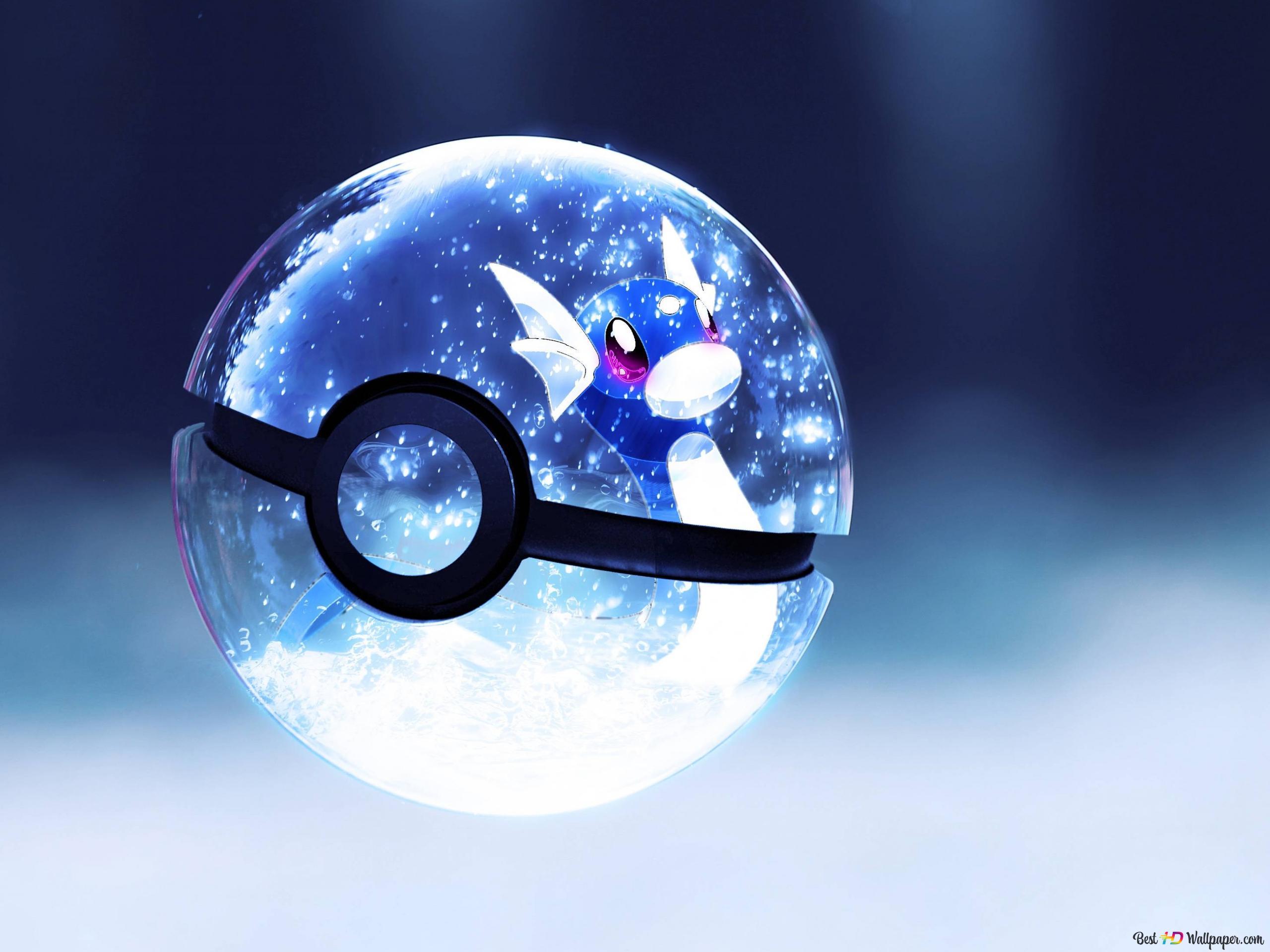 Pokemon GO - Glowing Pokeball HD wallpaper download