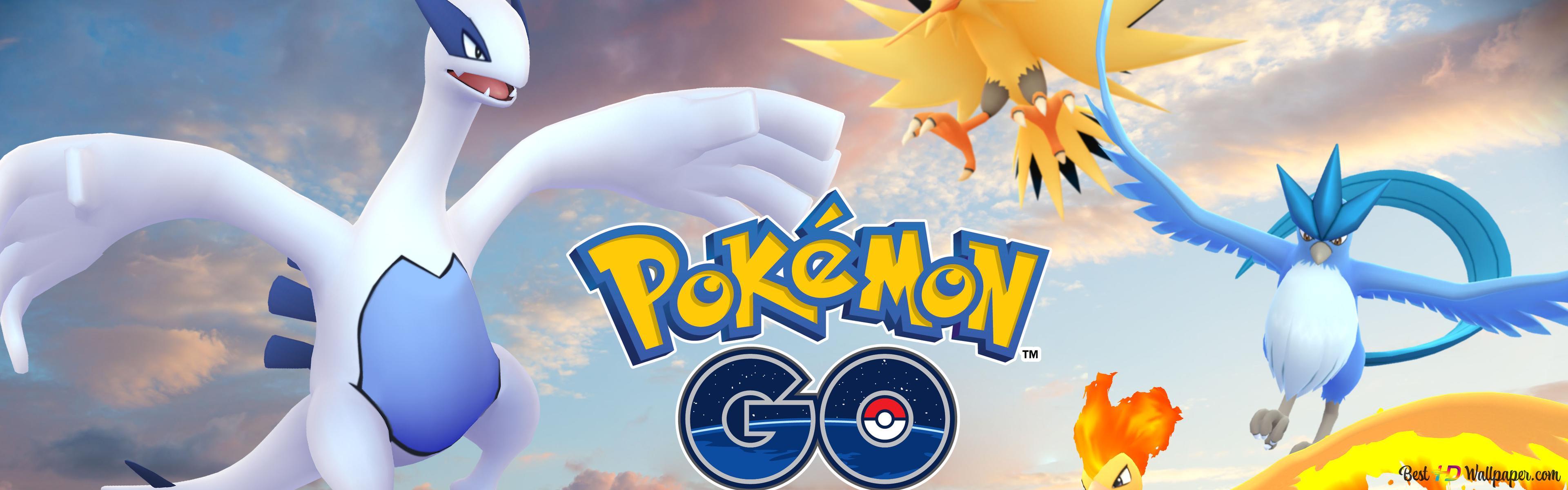 Pokemon GO - Mobile game HD wallpaper download