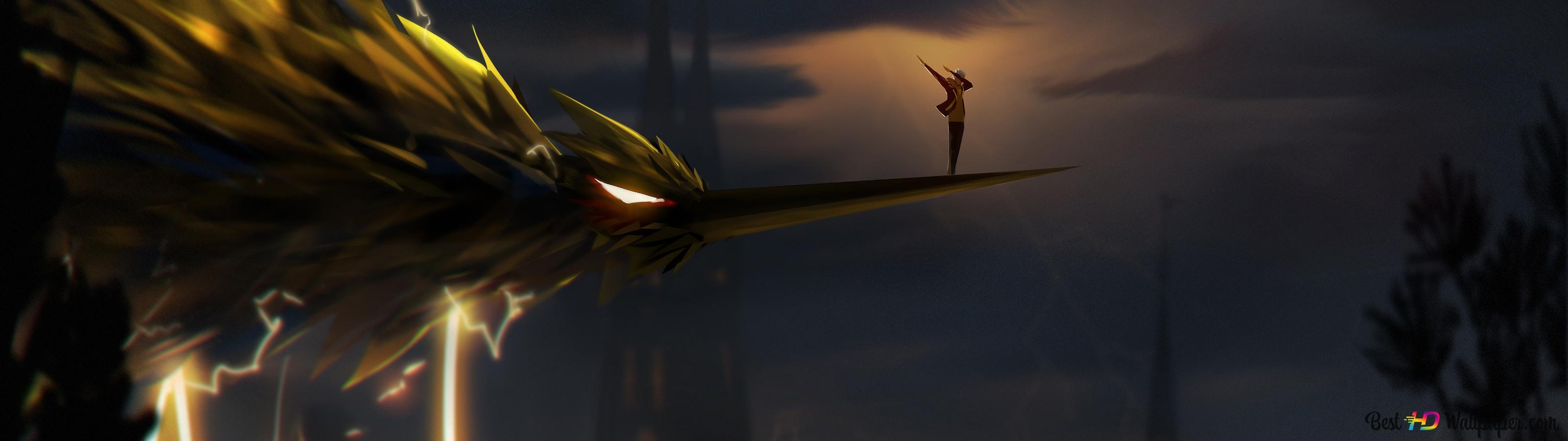 Pokemon GO - Team Instinct (Zapdos) HD wallpaper download