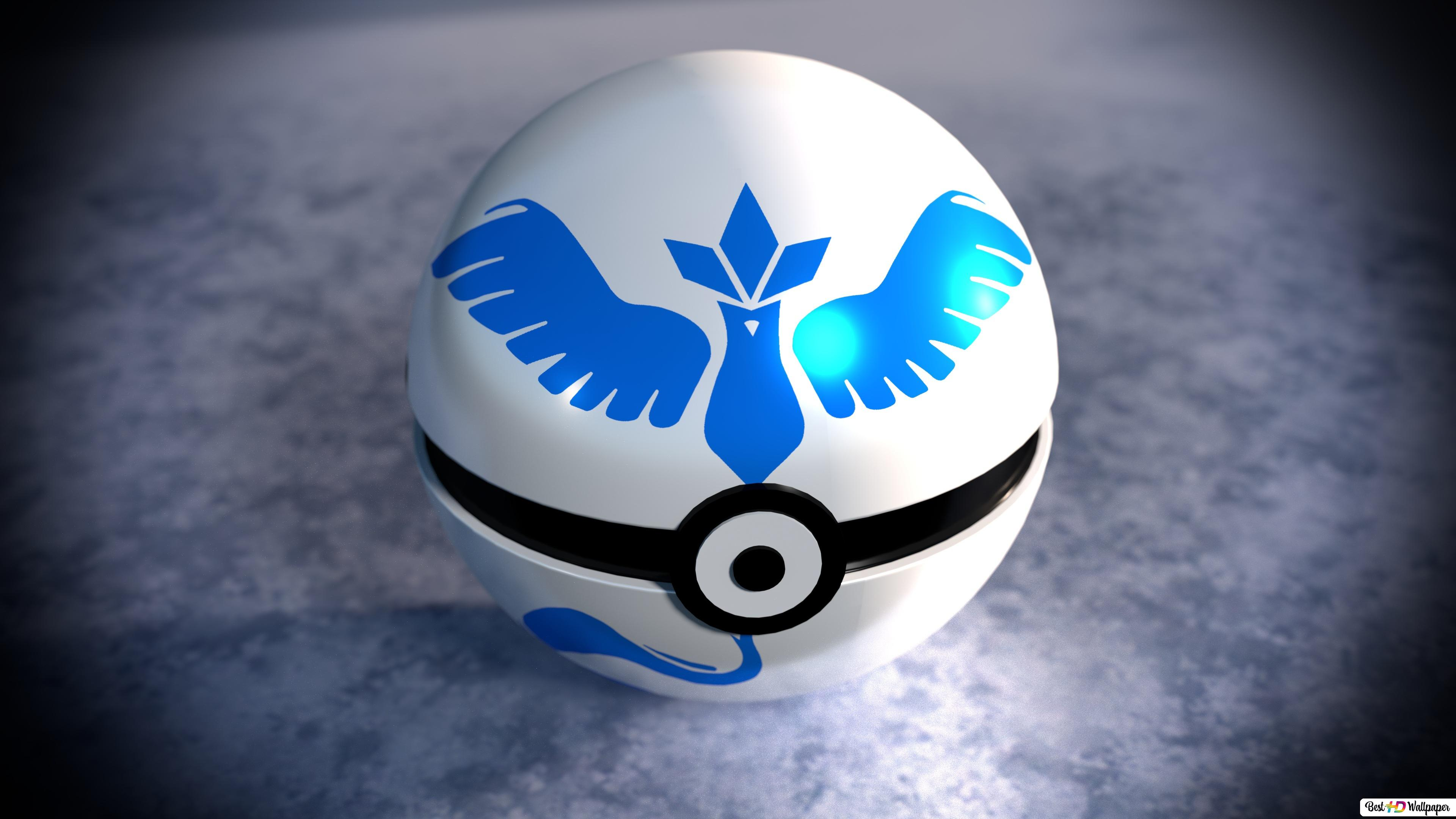 Pokemon Go Team Mystic Hd Wallpaper Download