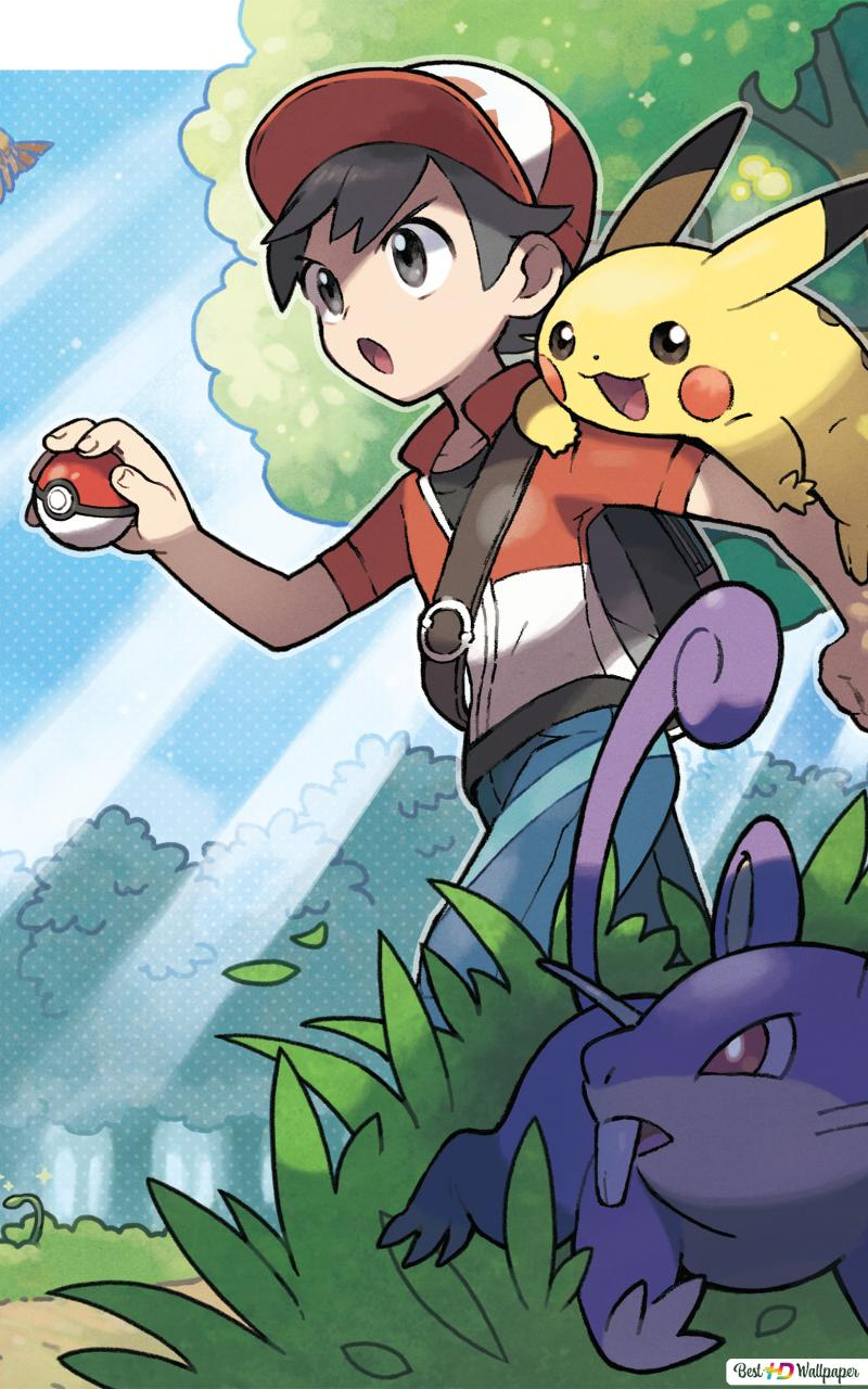 Pokemon Let S Go Pikachu And Let S Go Eevee Video Game Hd