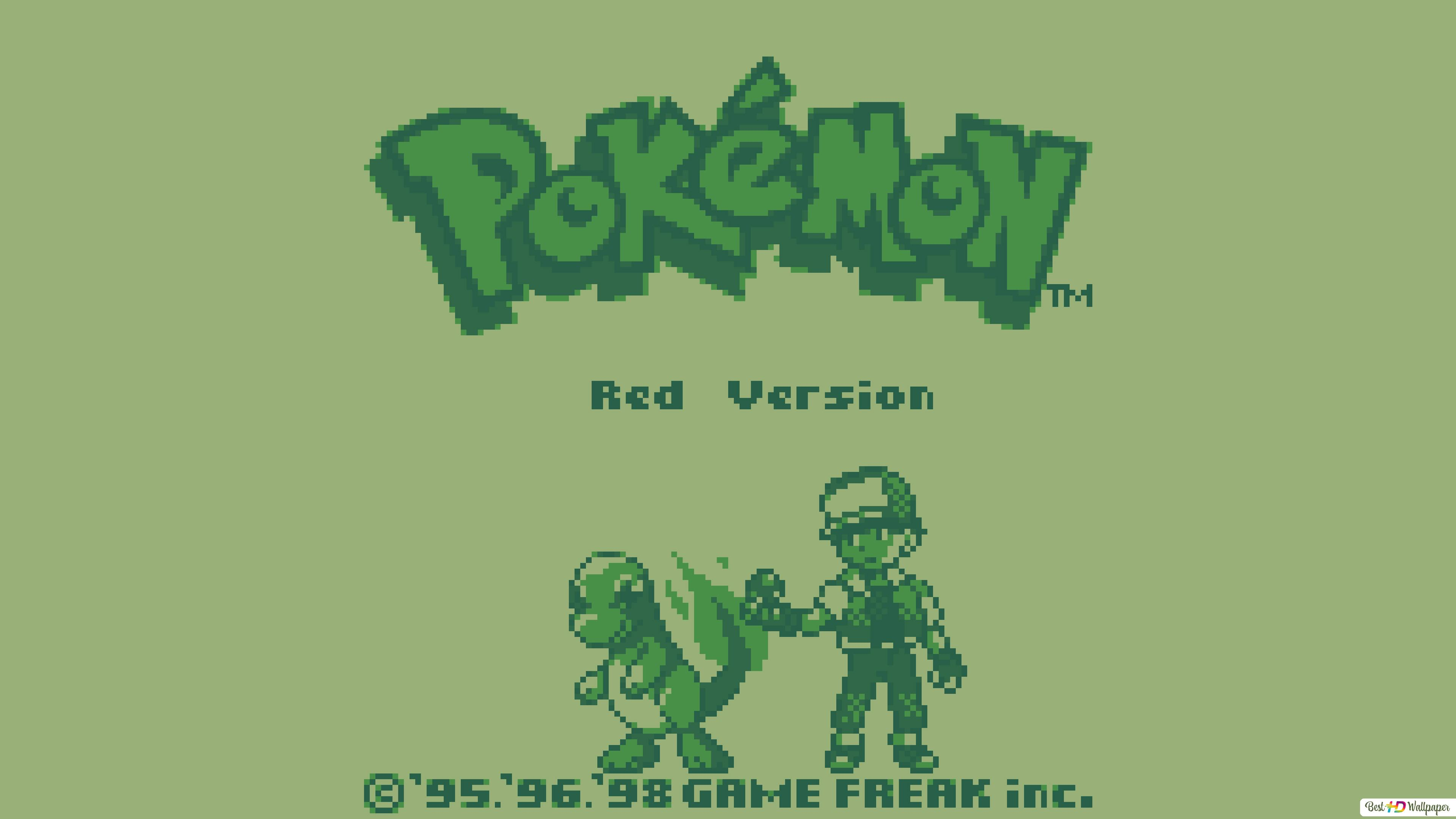 Pokemon Red And Blue Hd Wallpaper Download