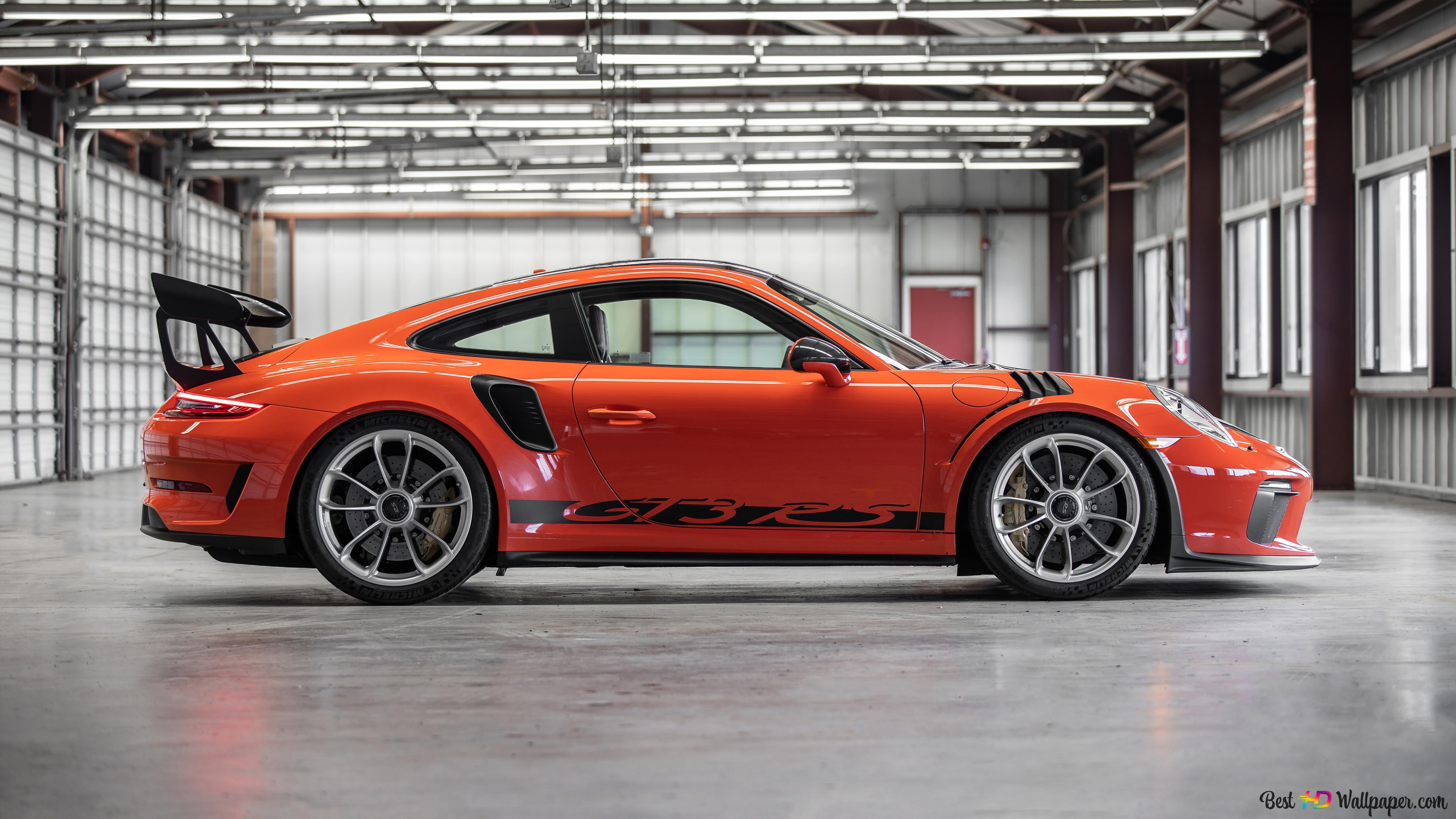 Porsche 911 Gt3 Rs 5k Hd Wallpaper Download