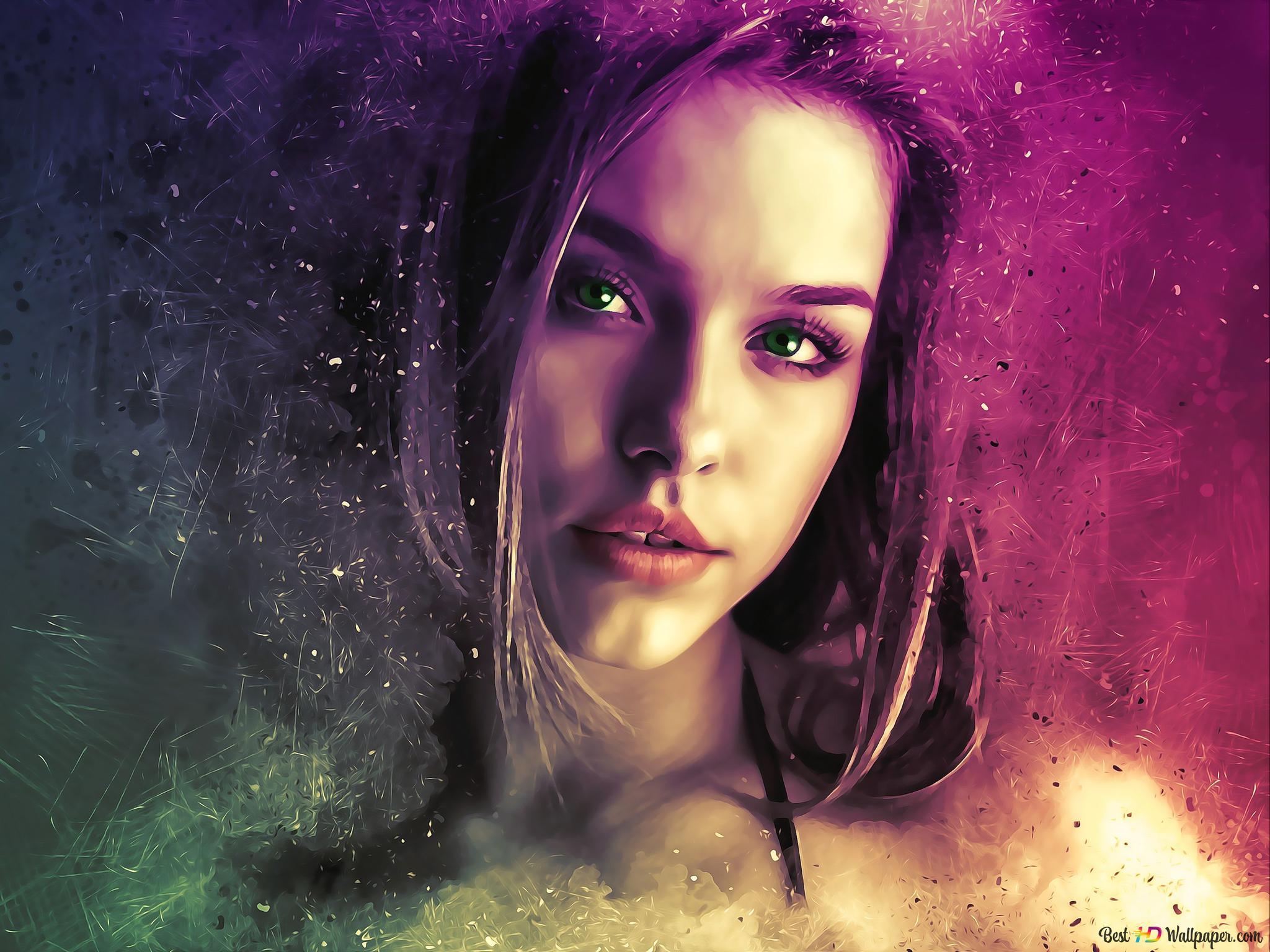 beautiful woman ethereal HD wallpaper ...