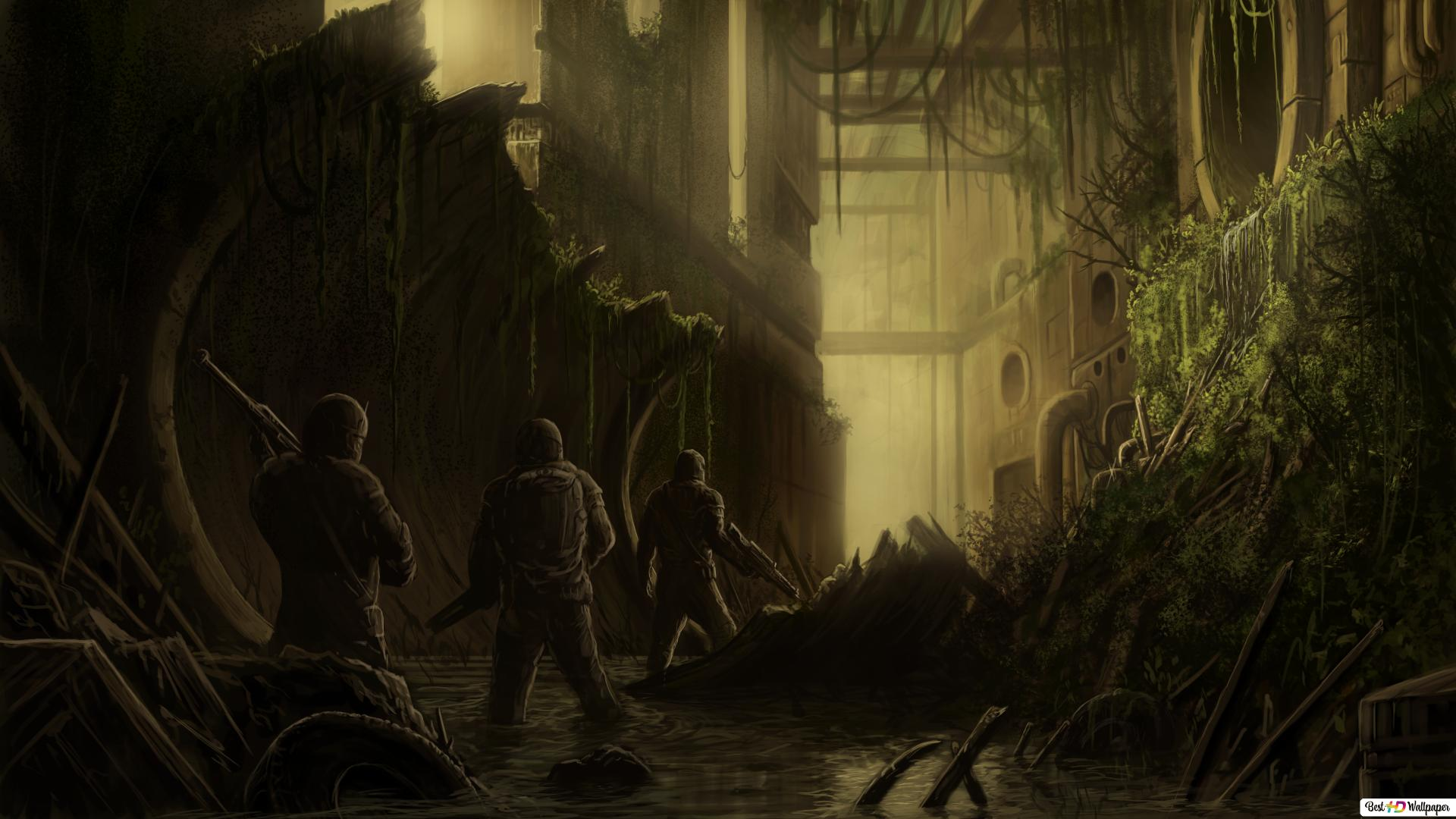 Post Apocalyptic Hd Wallpaper Download