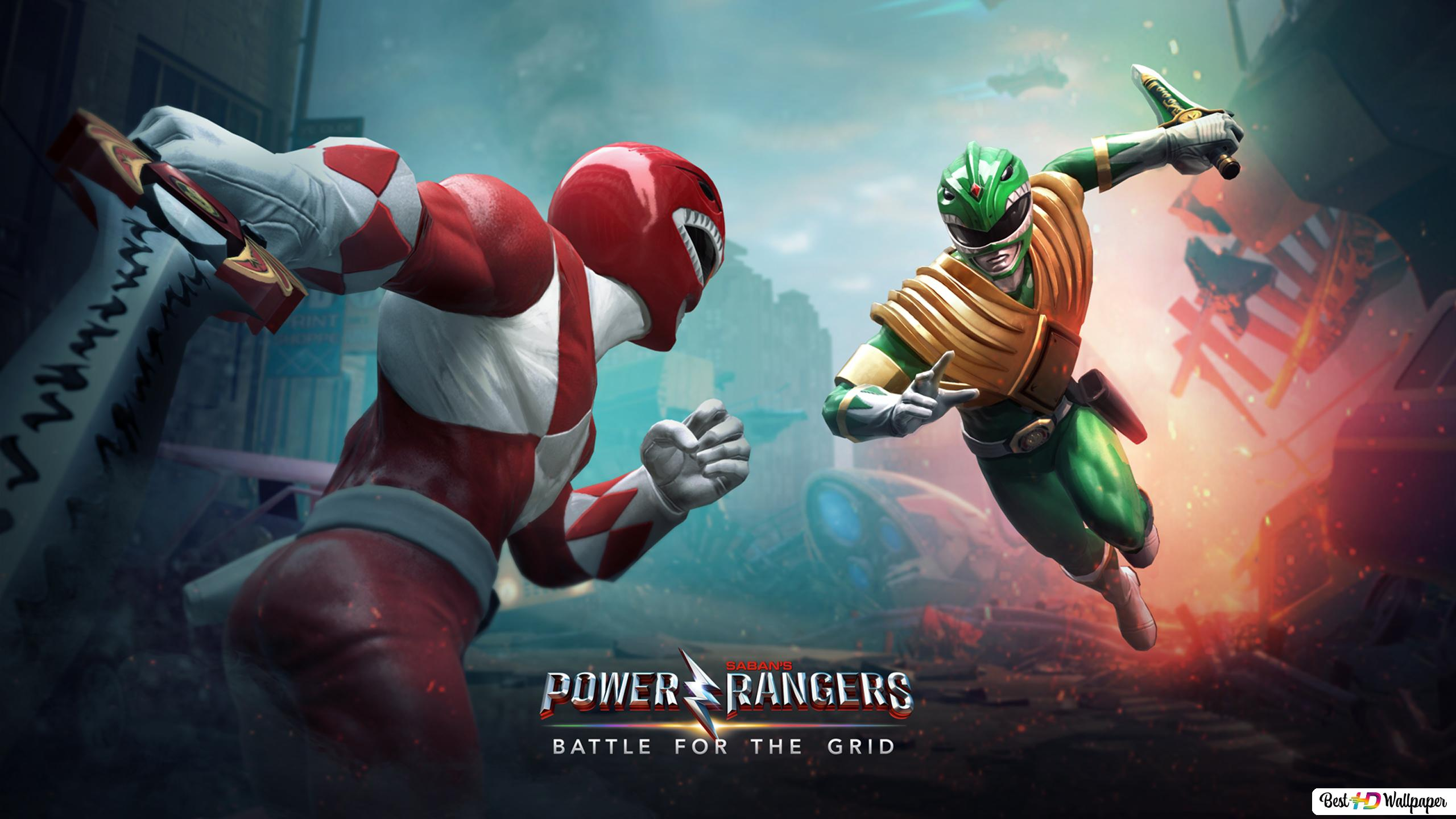 Power Rangers Battle For The Grid 2019 Hd Wallpaper Download