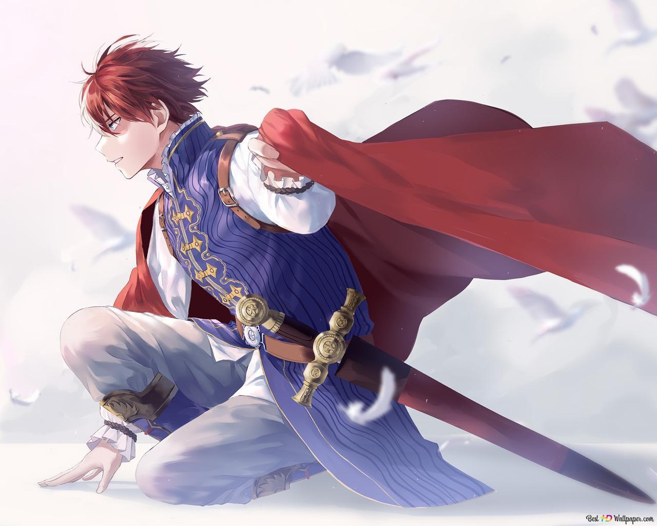 prince shoto todoroki wallpaper 1280x1024 20960 32