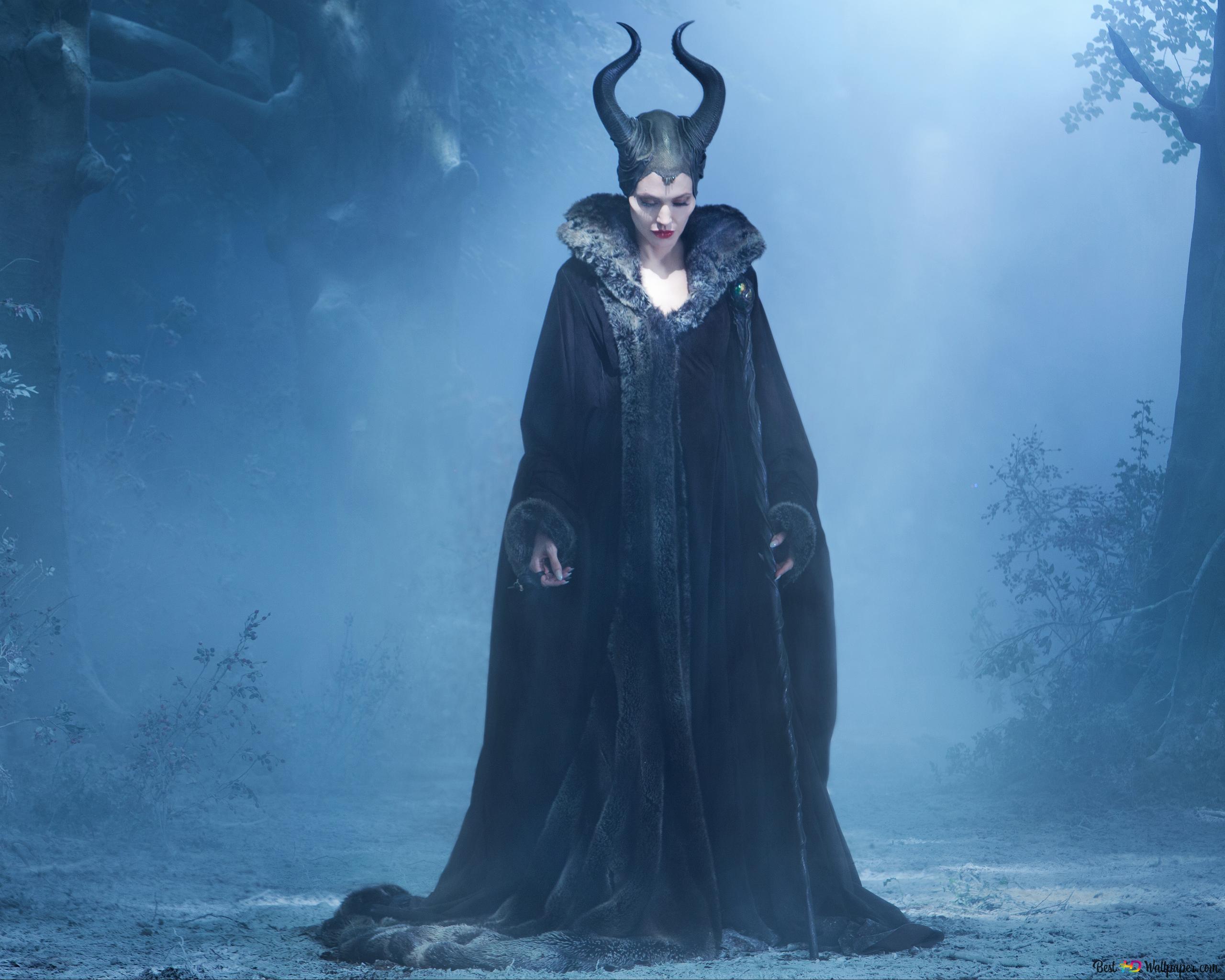 Descargar Fondo De Pantalla Protector Feroz Maleficent Hd