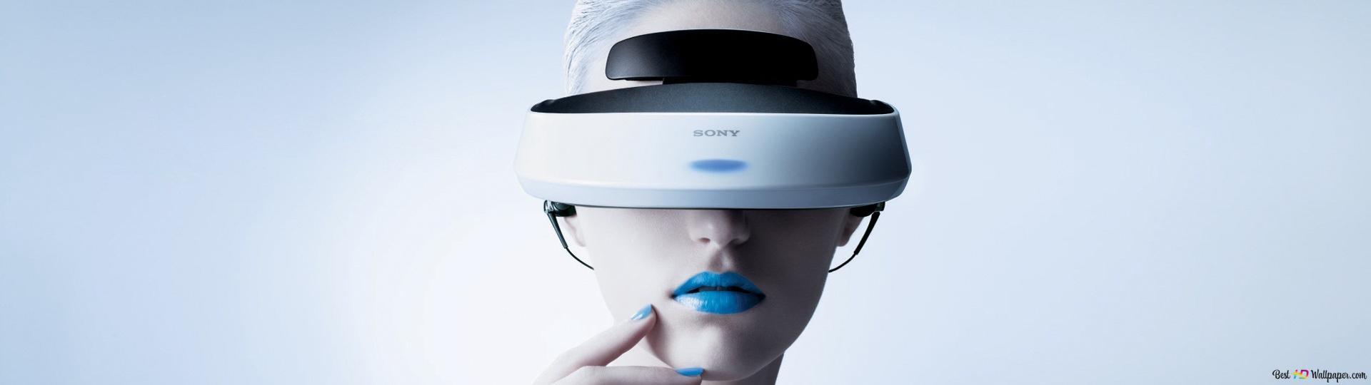 ps4 casque de r alit virtuelle hd fond d 39 cran t l charger. Black Bedroom Furniture Sets. Home Design Ideas