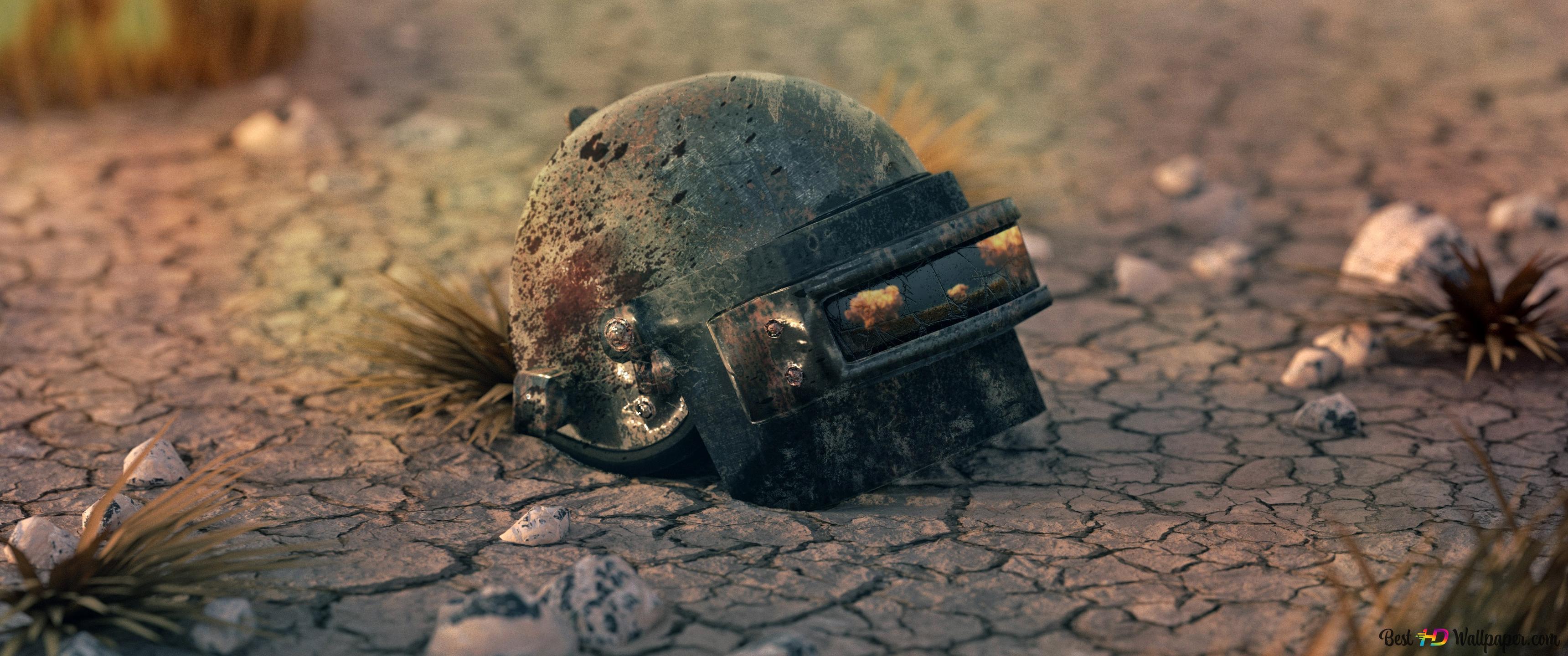 Pubg Playerunknown S Battlegrounds Helmet Character Hd