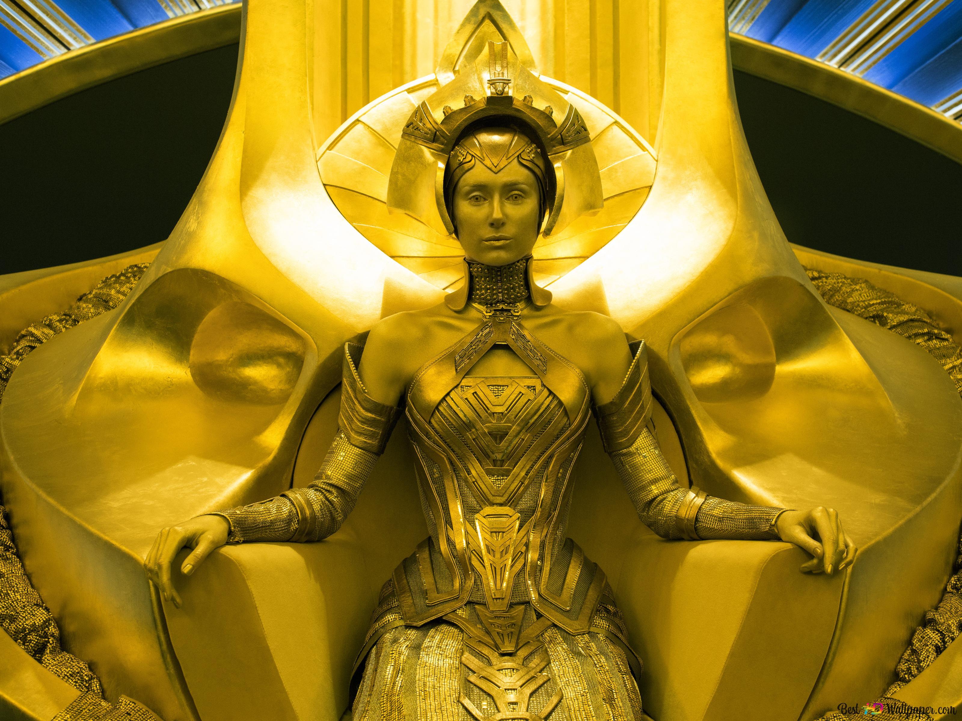 Queen Elizabeth Debicki Of Guardians Of The Galaxy Vol 2 Hd