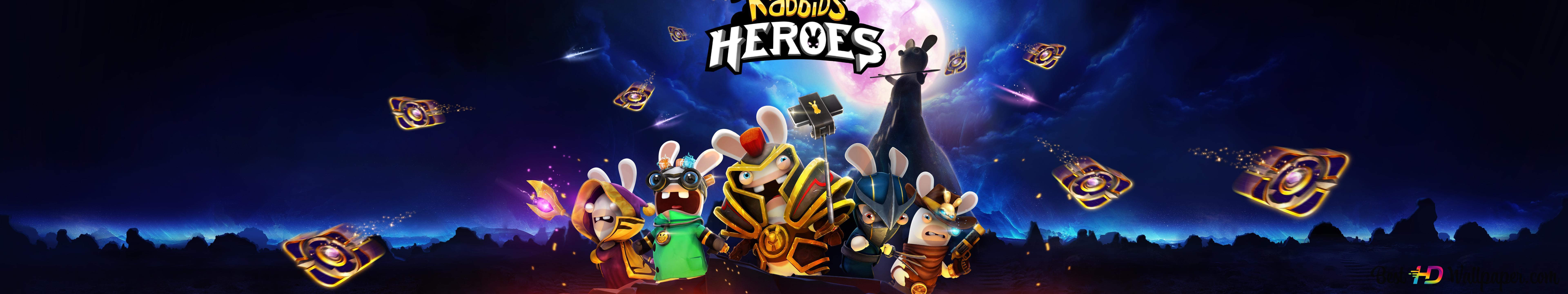 Rabbids Heroes HD wallpaper download