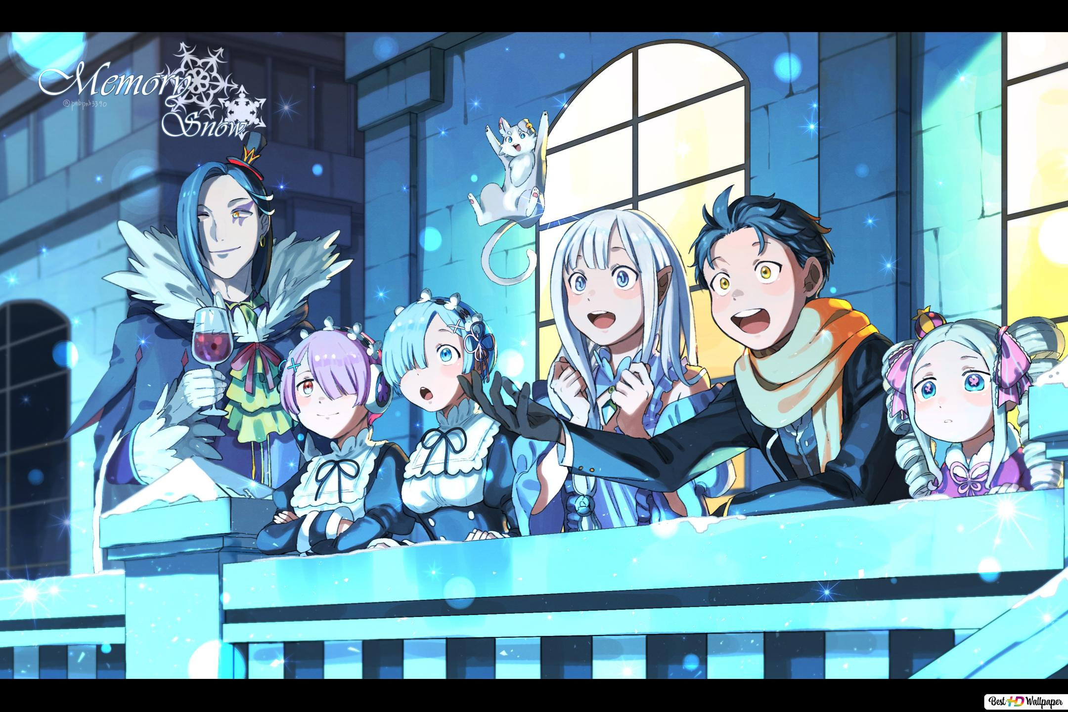 Re Zero Starting Life In Another World Memory Snow Hd Wallpaper Downloaden