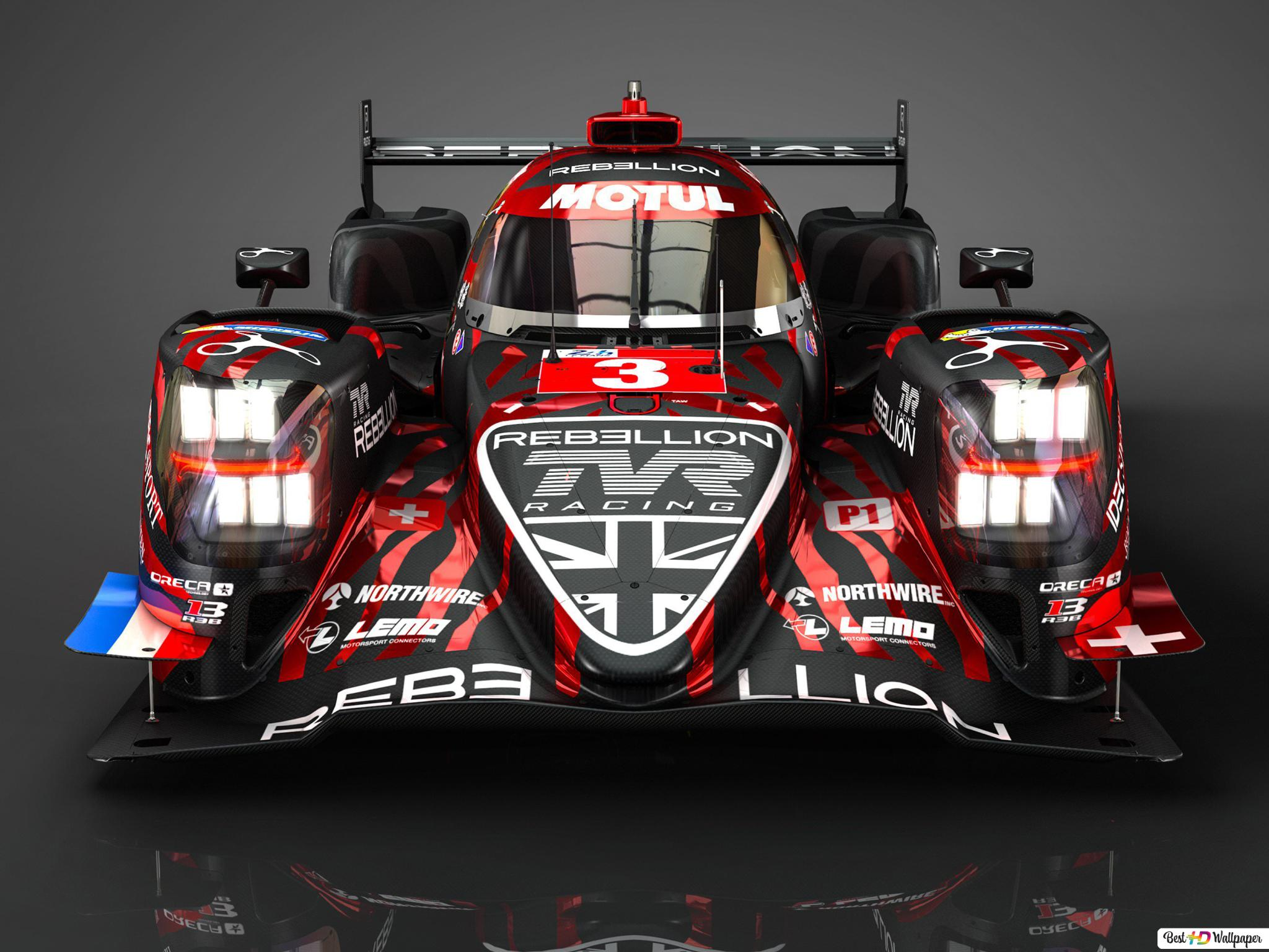 Rebellion R13 Race Car Hd Wallpaper Download