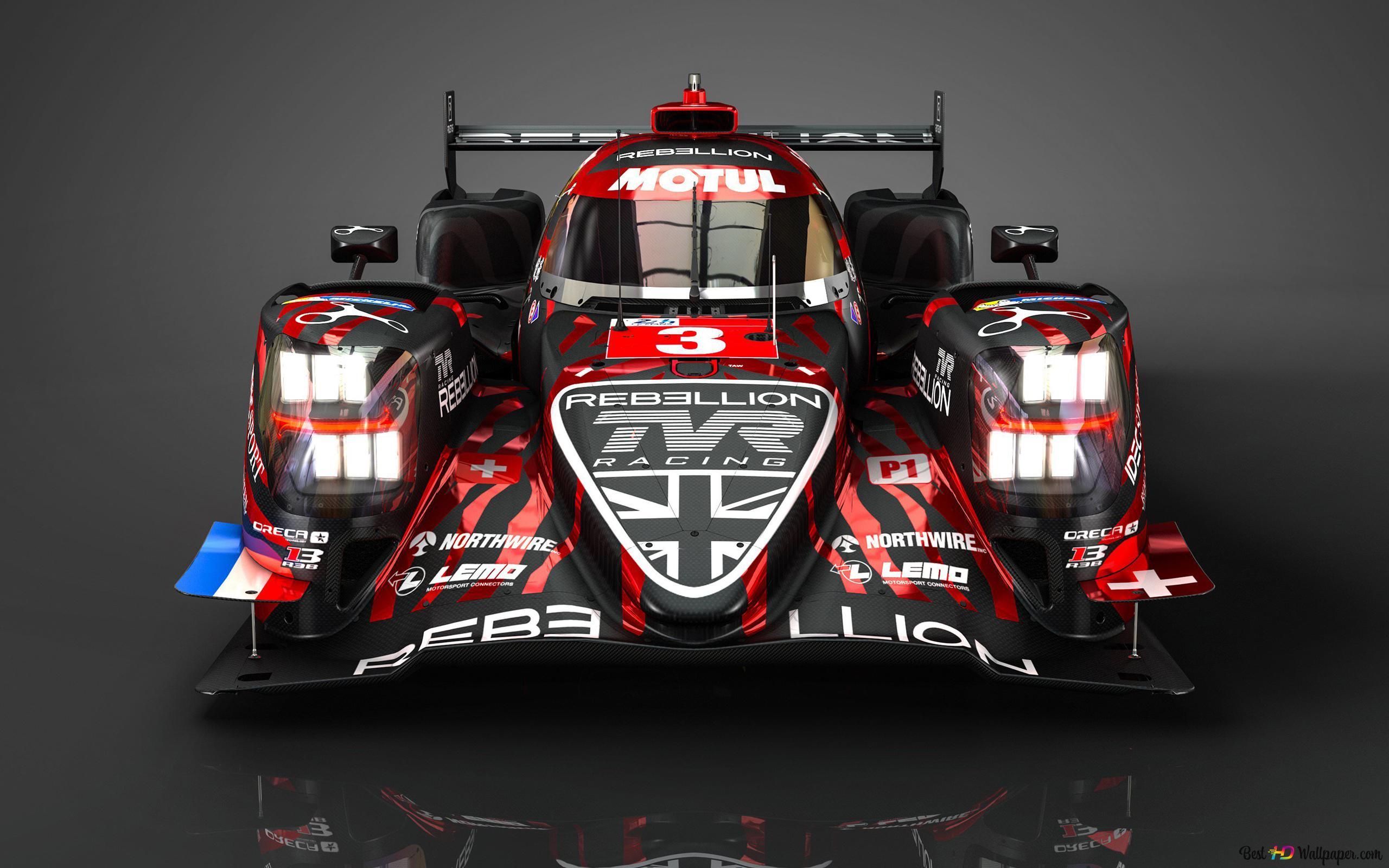 Rebellion R13 Race Car Hd Wallpaper Download