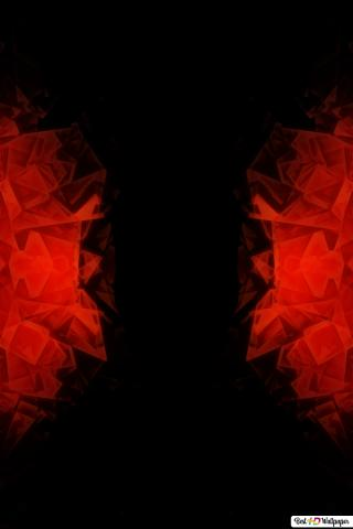 red crystals wallpaper 320x480 33603 170