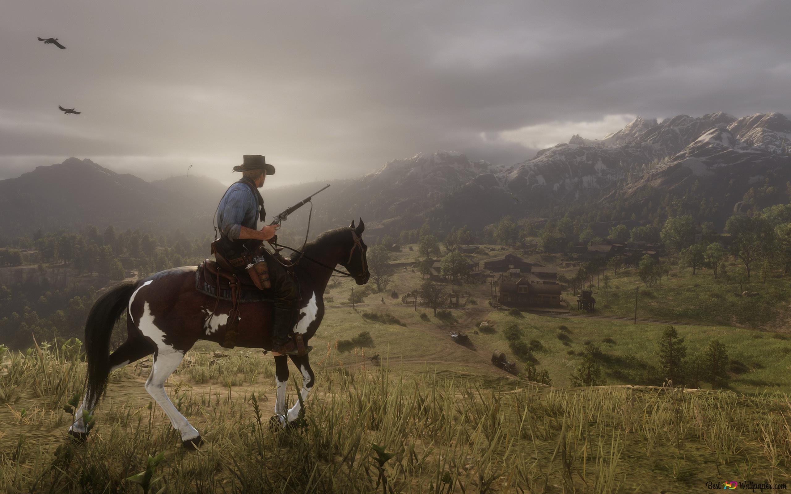 Descargar Fondo De Pantalla Red Dead Redemption Ii Arthur