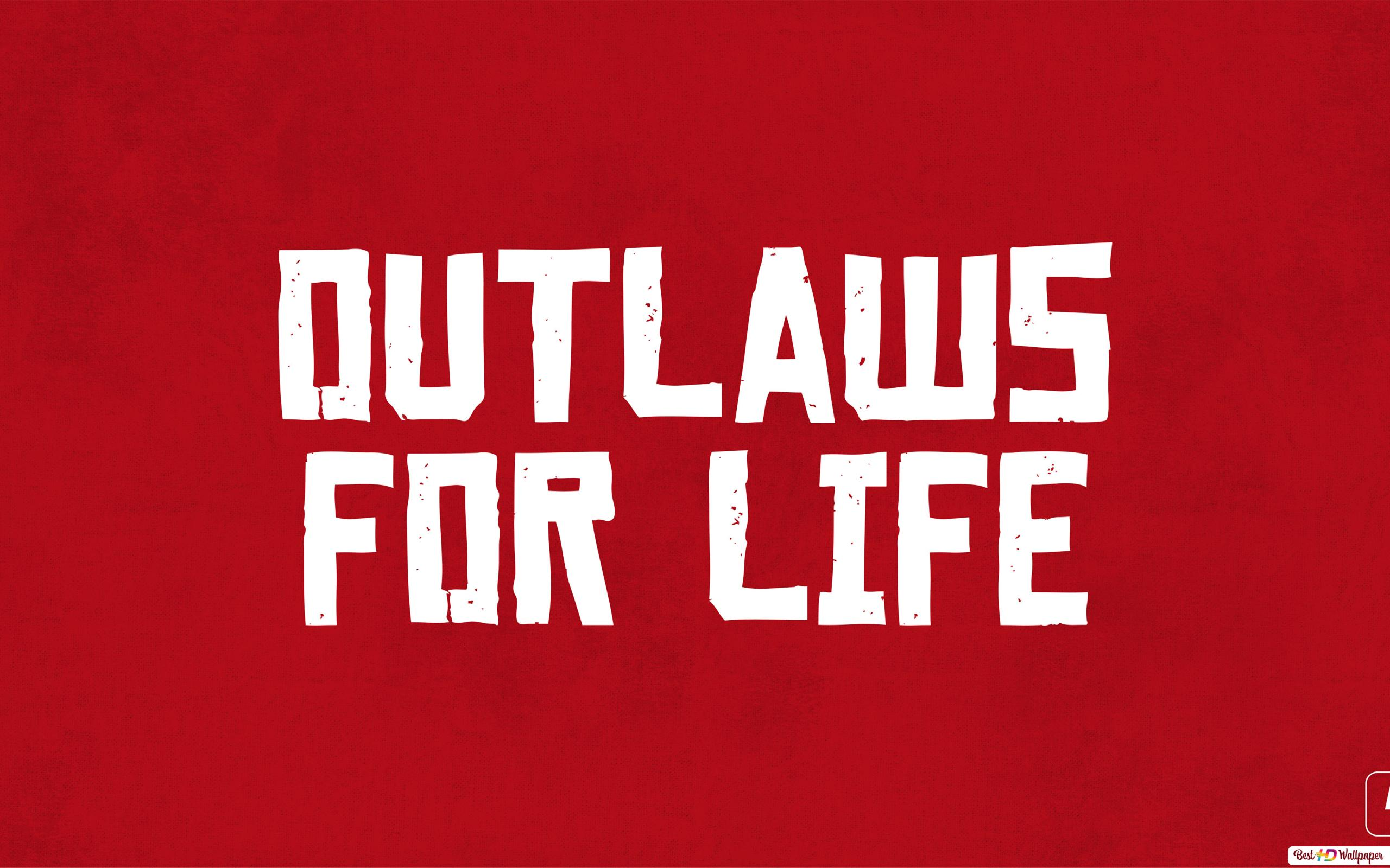 Red Dead Redemption Ii Outlaws For Life Hd Wallpaper Download