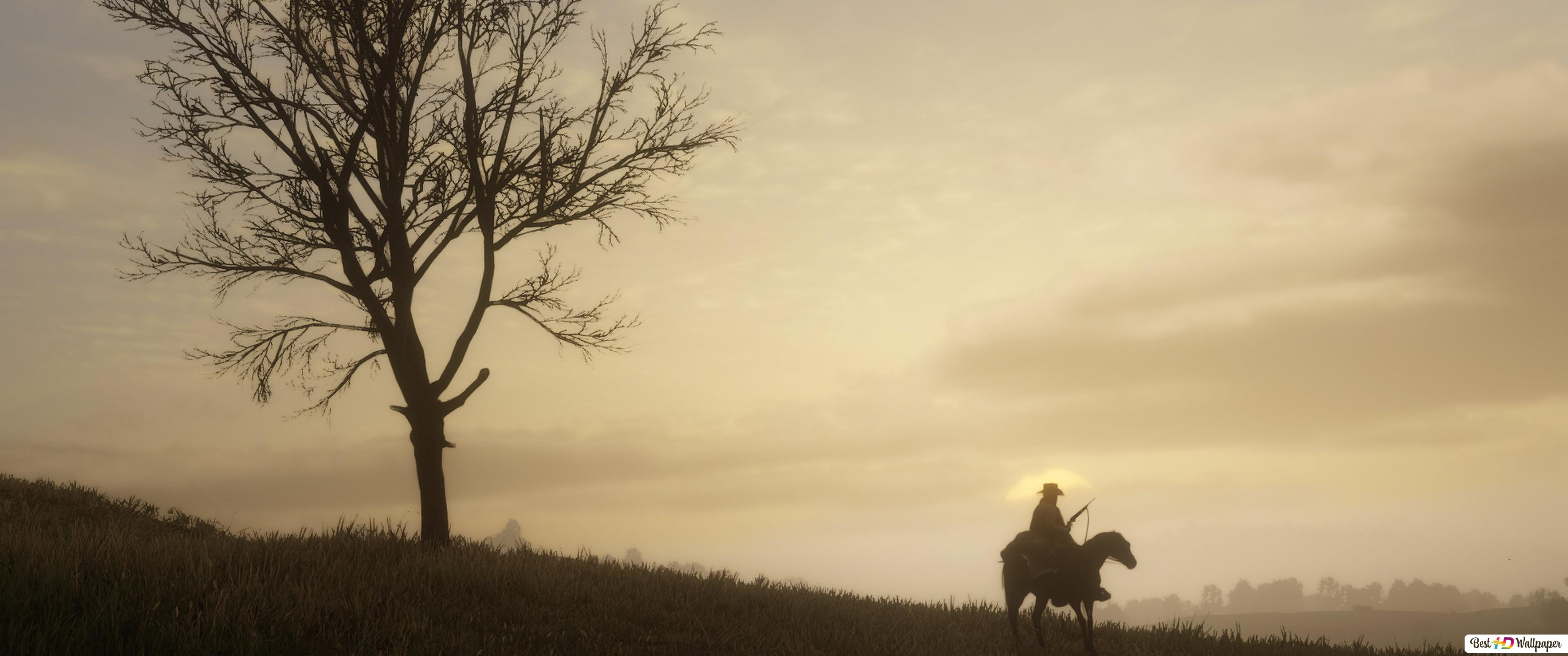 Red Dead Redemption Ii Sunset Hd Wallpaper Download